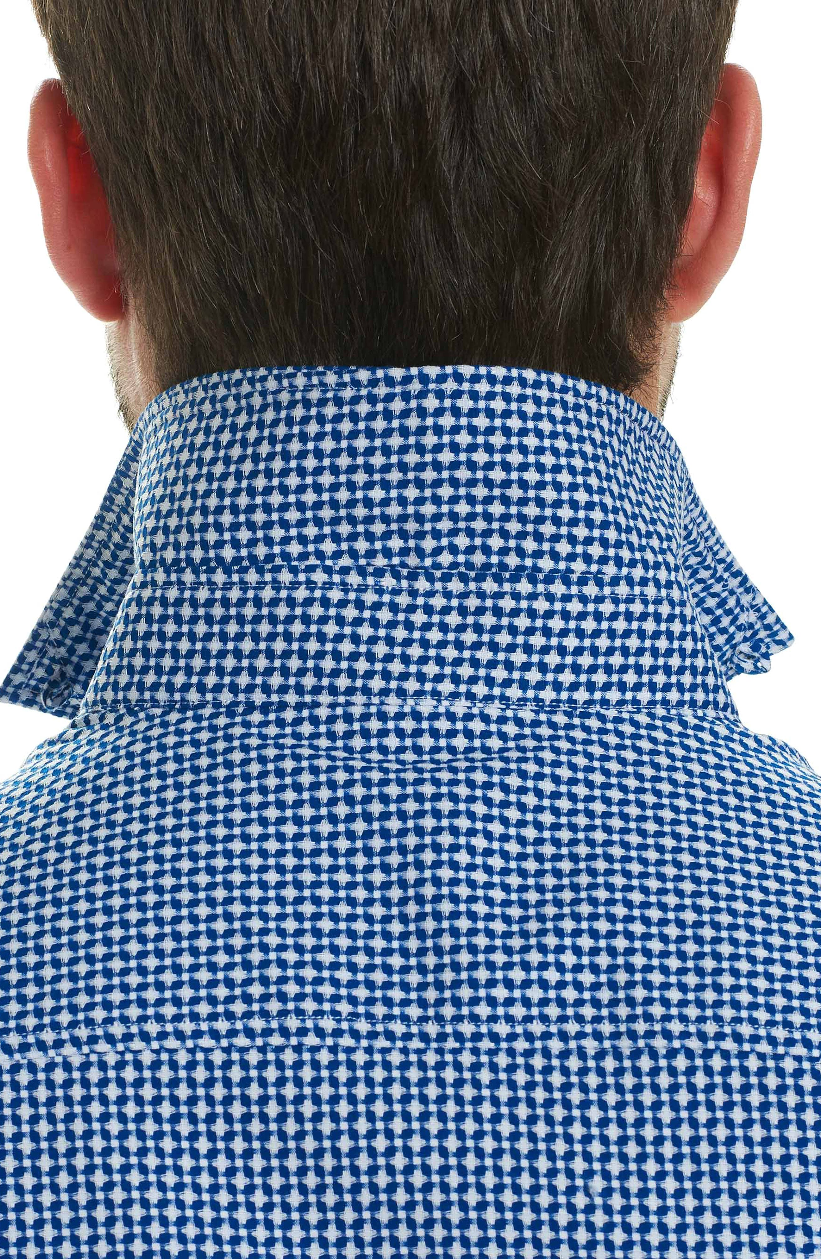 Alternate Image 3  - Robert Graham Nikko Tailored Fit Print Sport Shirt