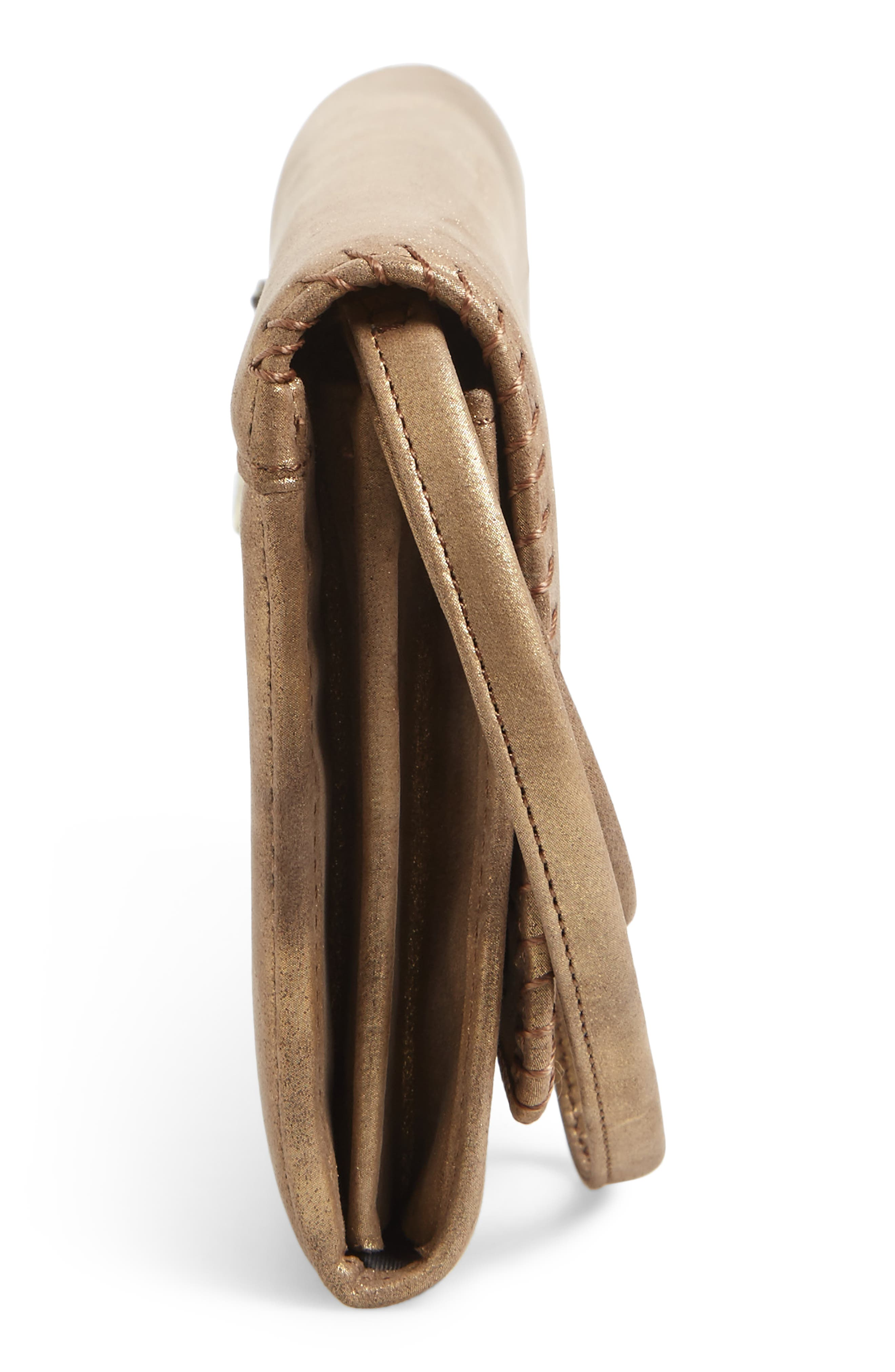 Alternate Image 5  - Hobo Era Wristie Leather Wallet