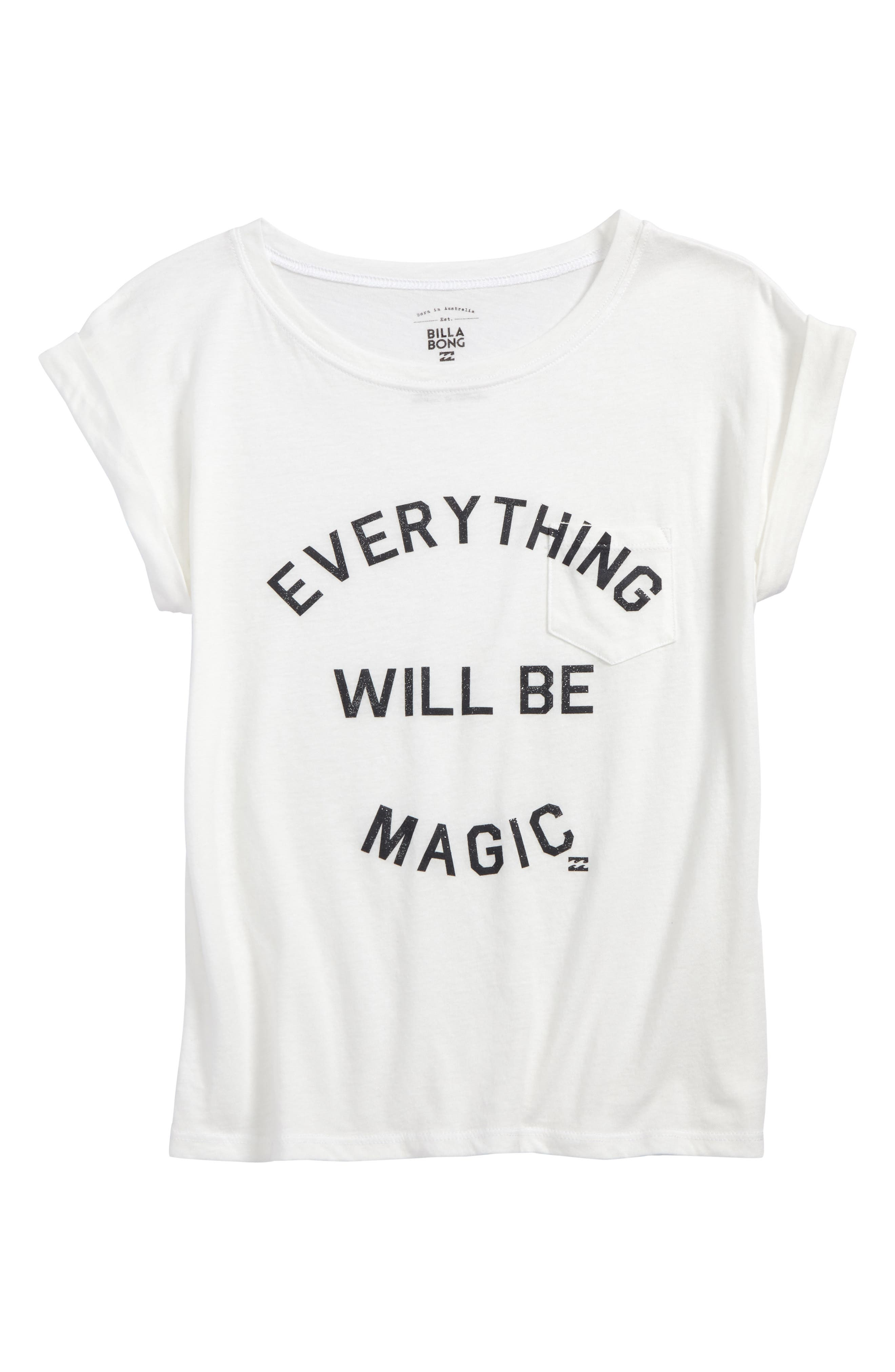 Be Magic Graphic Tee,                         Main,                         color, Cool Wip