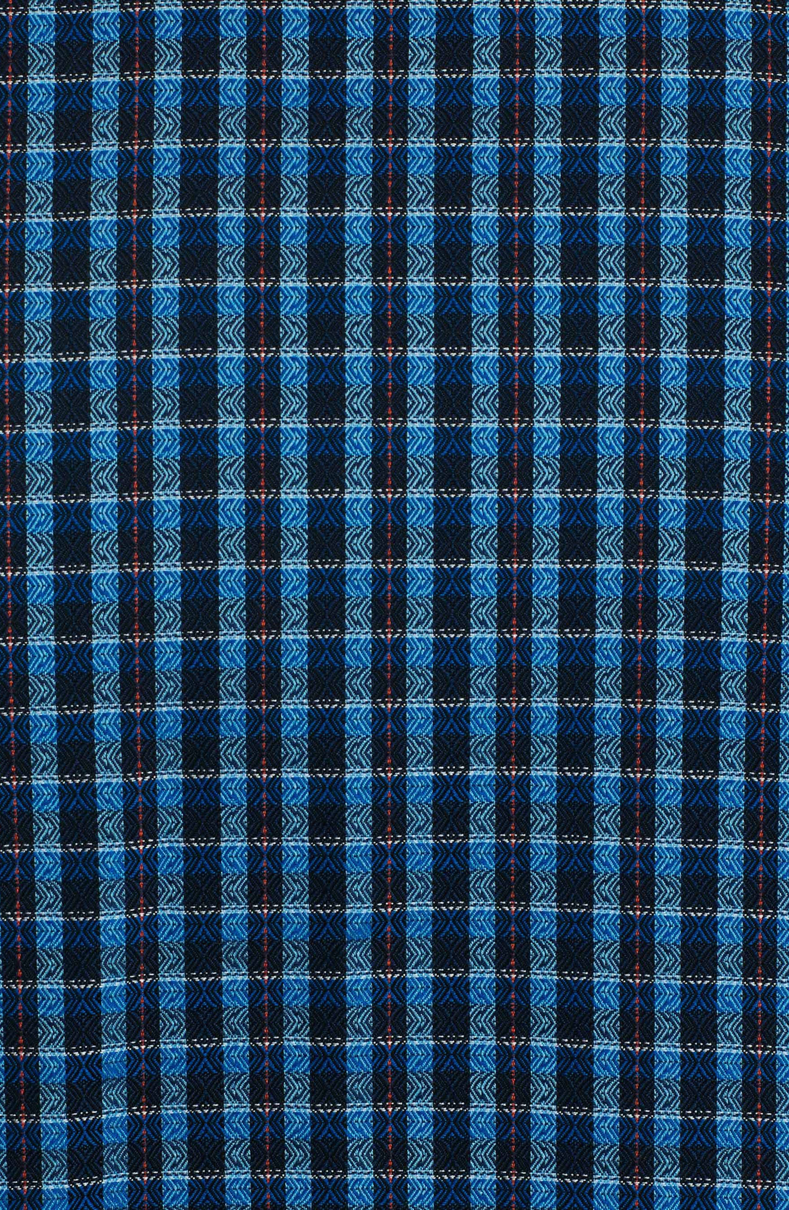 Matira Classic Fit Check Sport Shirt,                             Alternate thumbnail 7, color,                             Blue