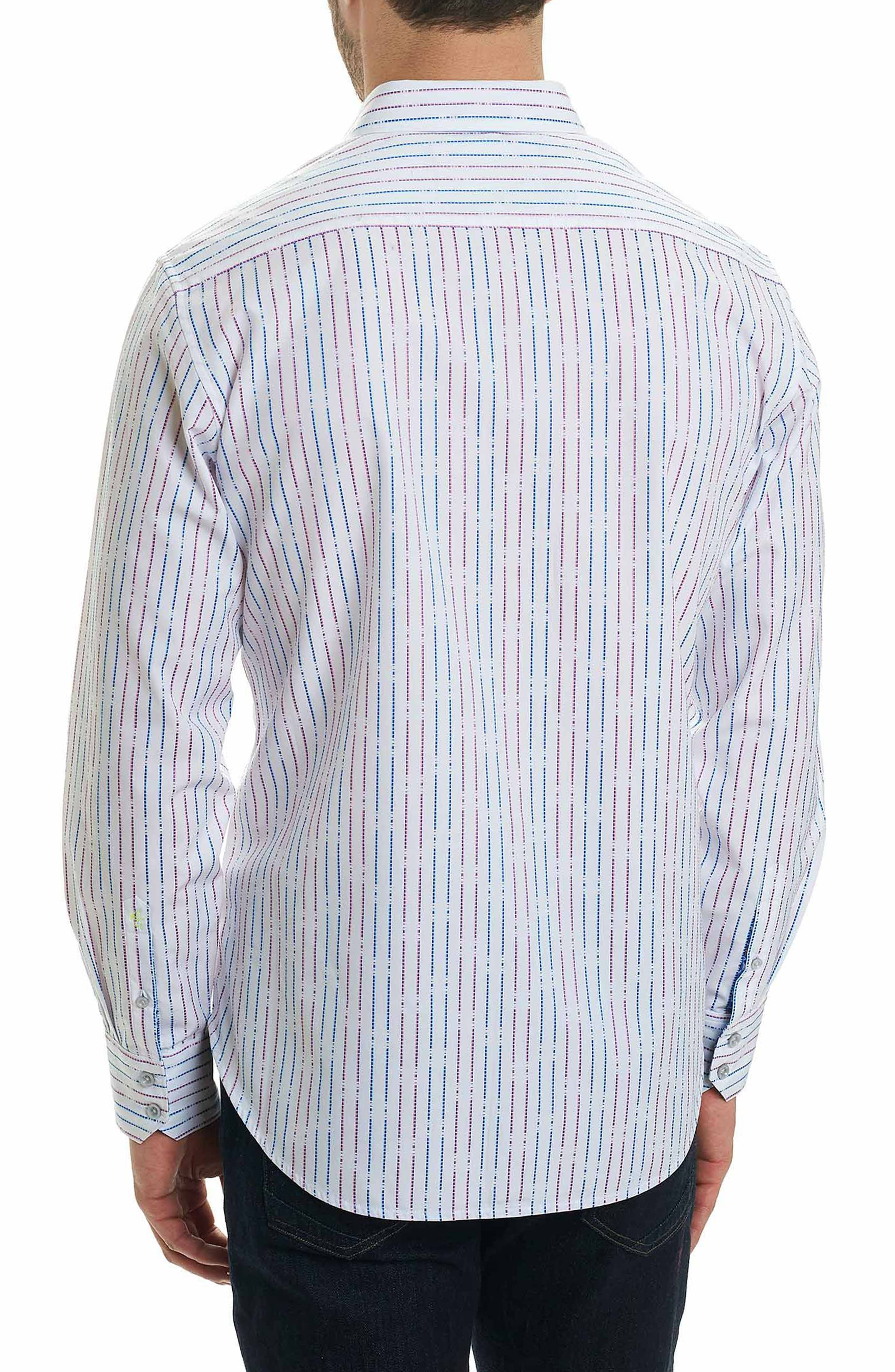 Bora Classic Fit Sport Shirt,                             Alternate thumbnail 2, color,                             White