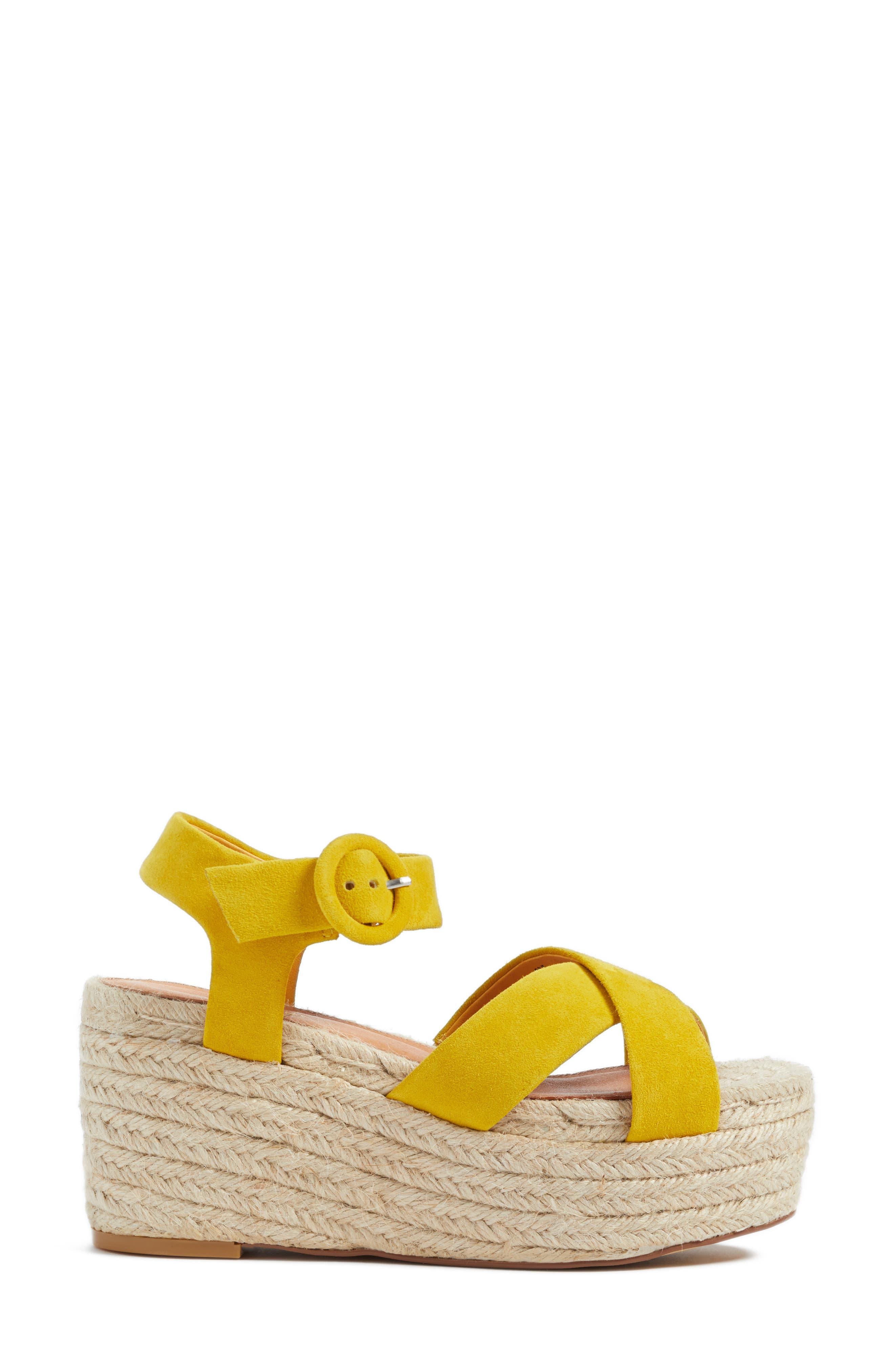 Alternate Image 3  - Halogen® Emery Platform Espadrille Sandal (Women)