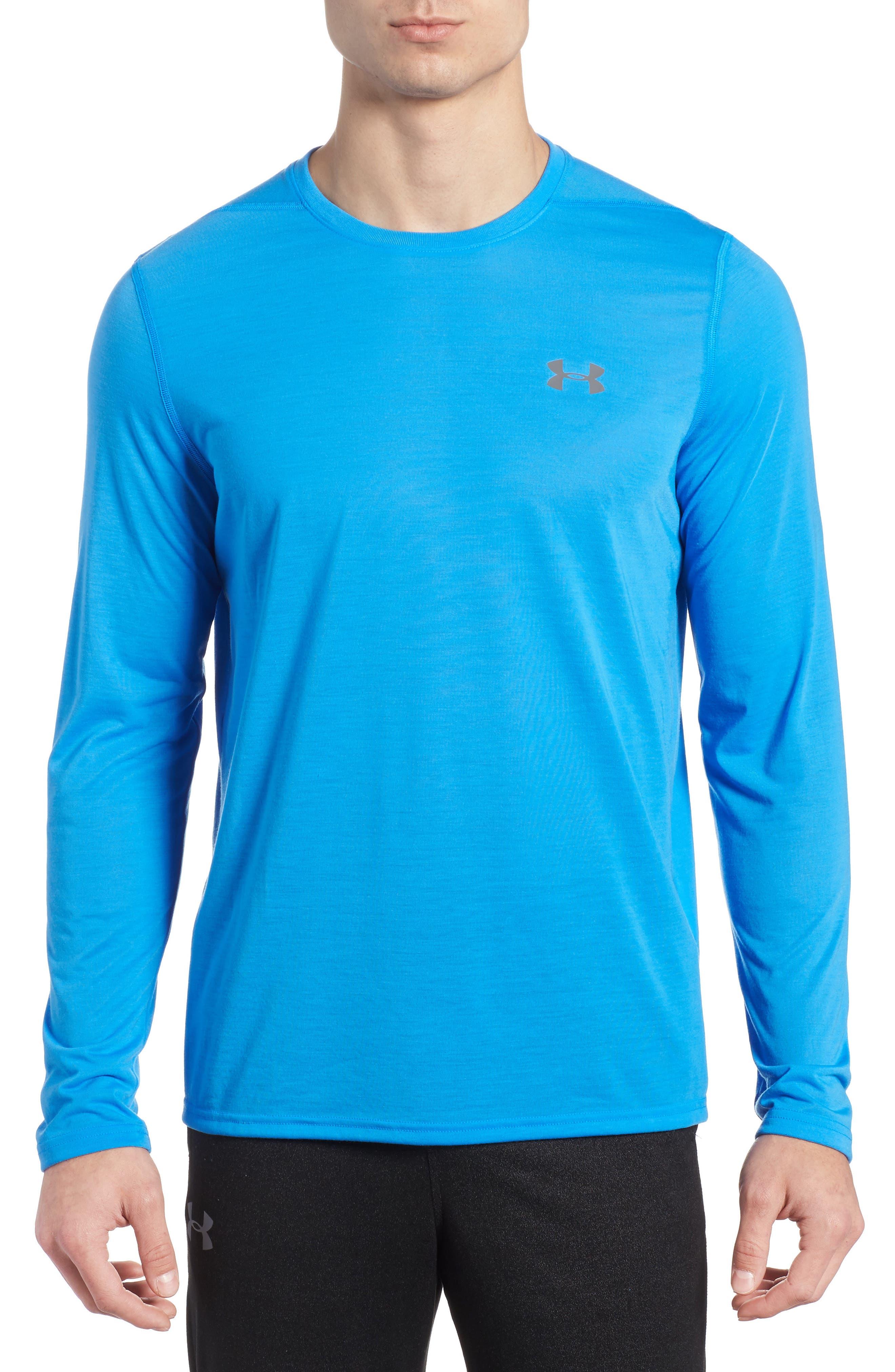 Main Image - Under Armour Threadborne Long Sleeve Training T-Shirt