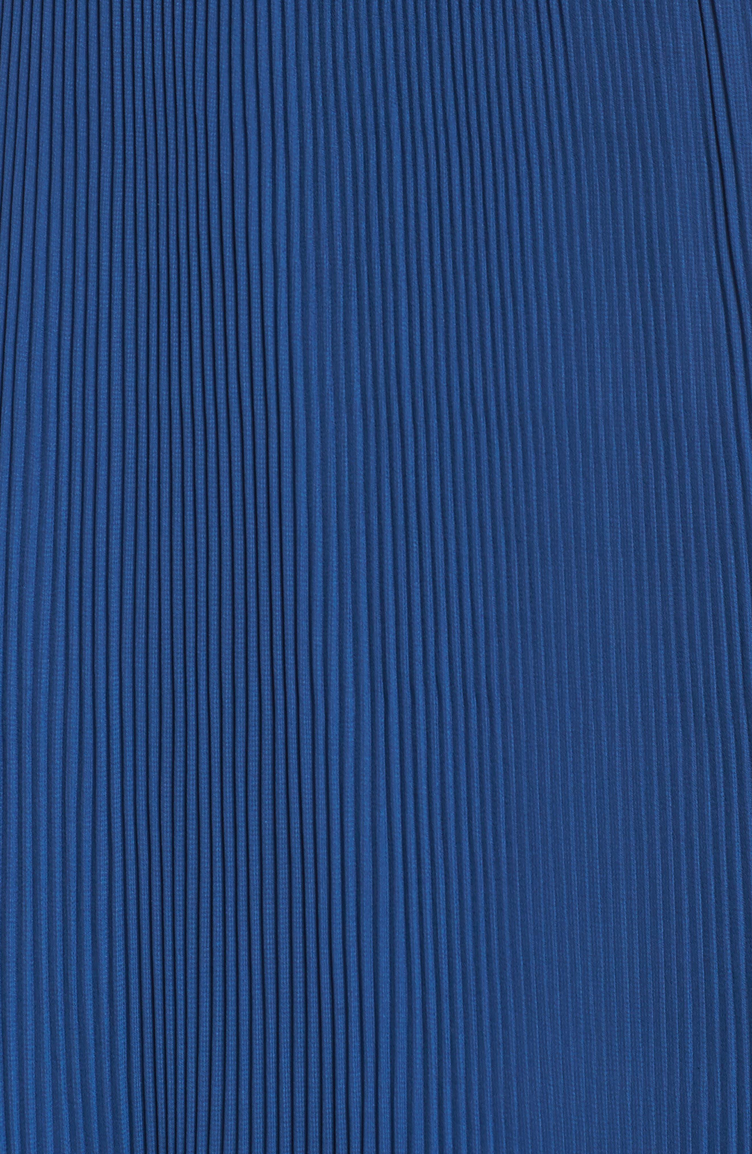 Sunset Blvd Maxi Dress,                             Alternate thumbnail 6, color,                             French Blue