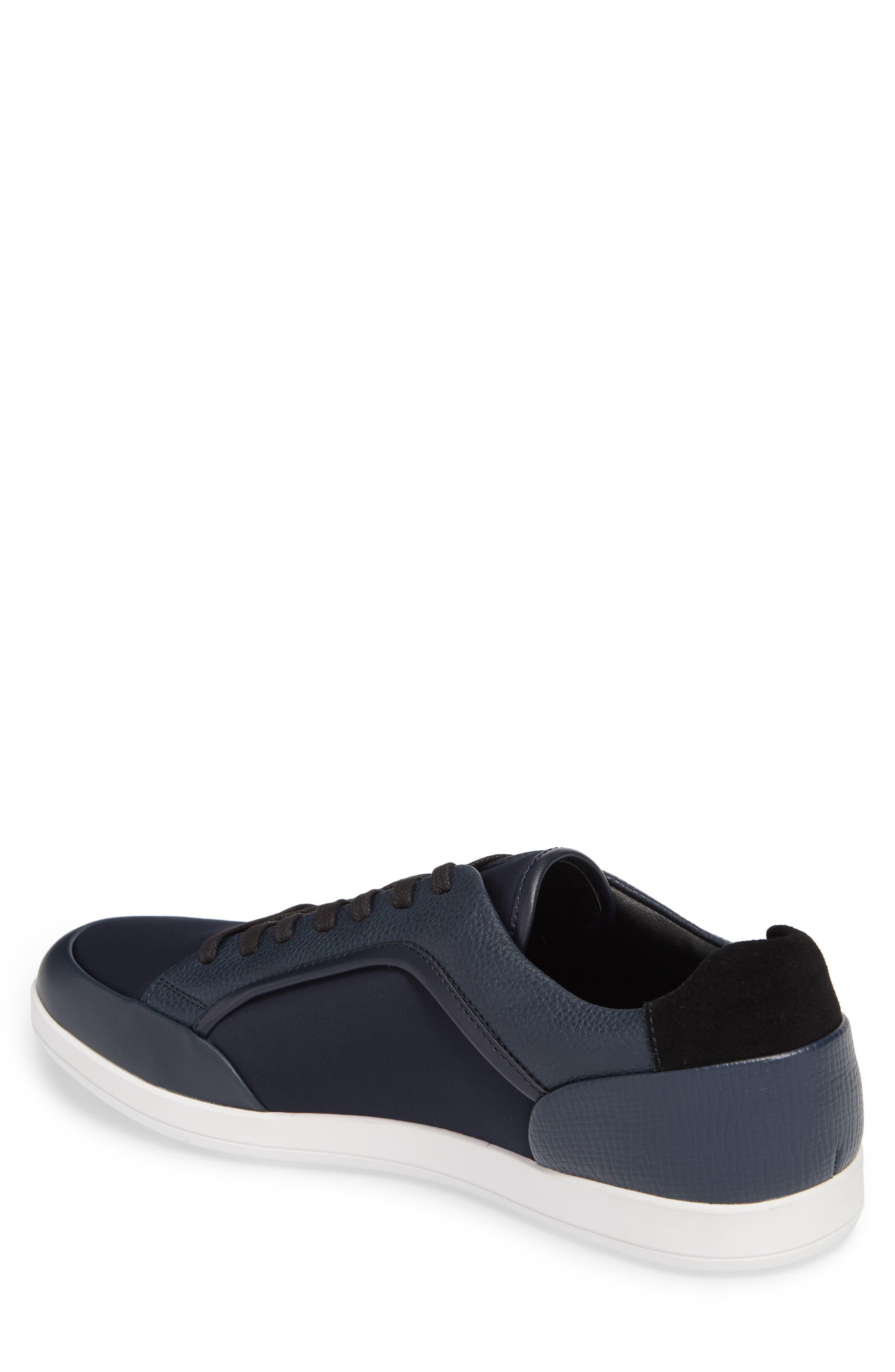 Masen Sneaker,                             Alternate thumbnail 2, color,                             Dark Navy Lyrcra