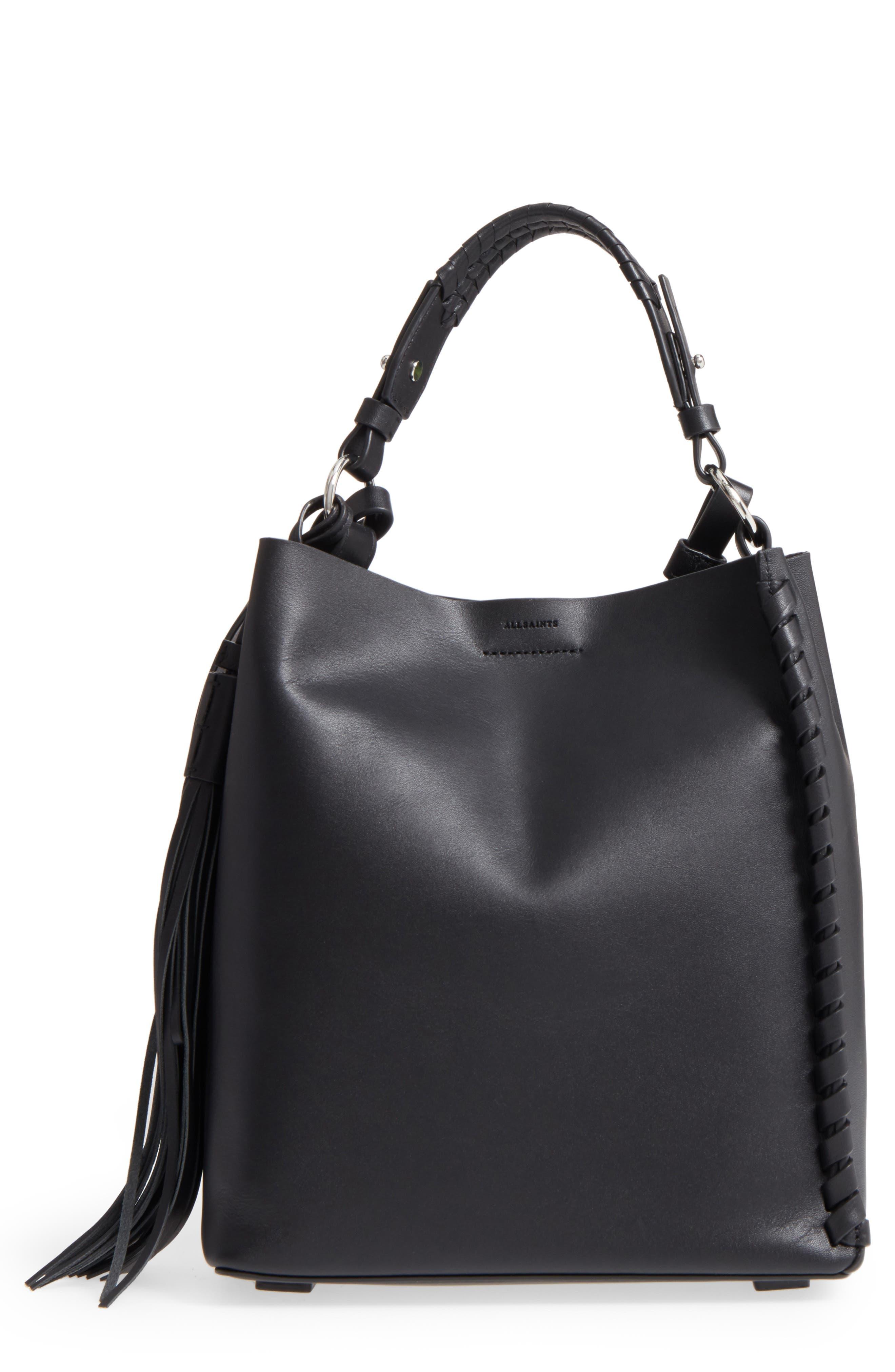 ALLSAINTS Kepi Leather Shoulder Bag