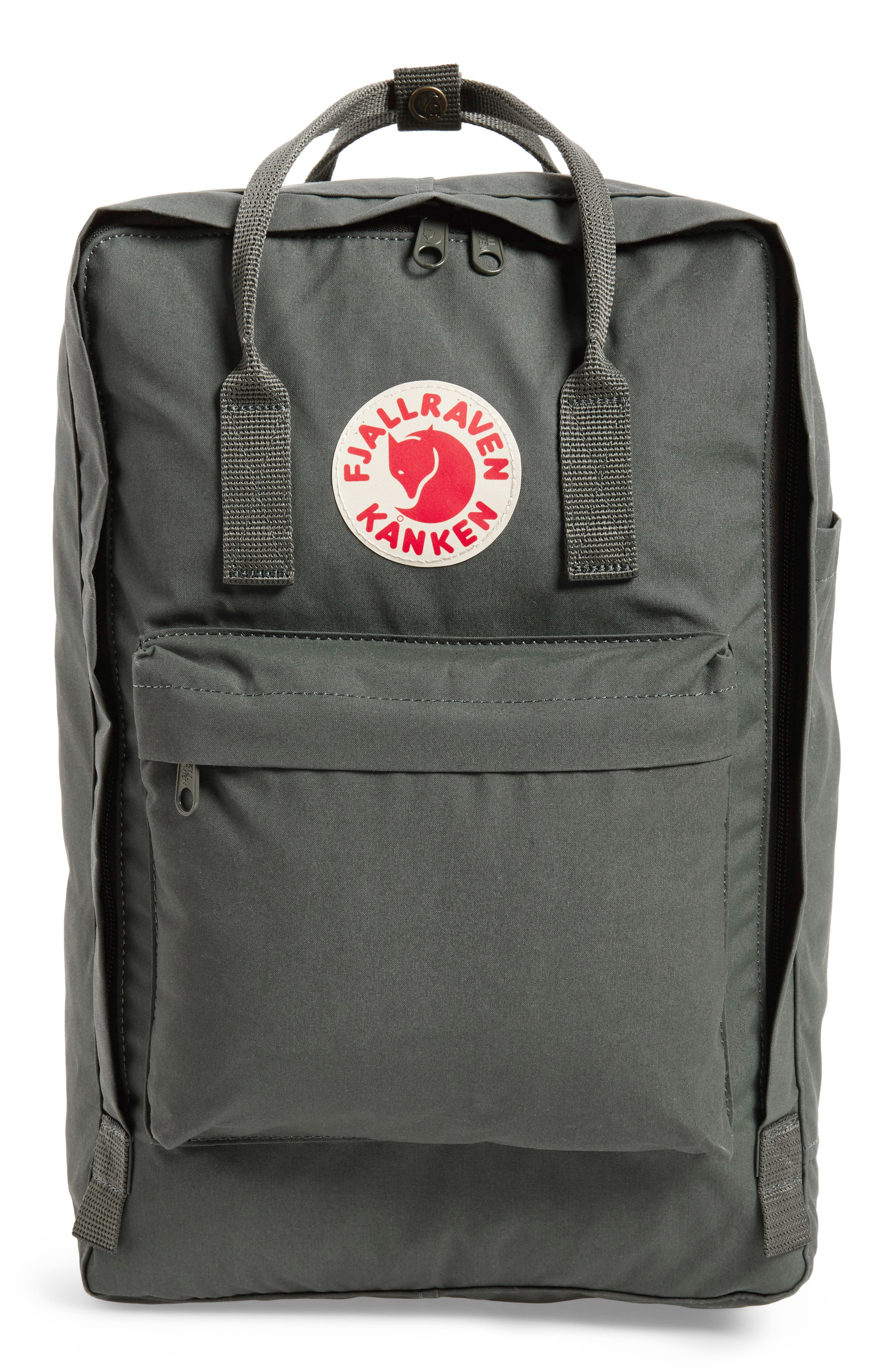 'Kånken' Laptop Backpack,                         Main,                         color, Forest Green