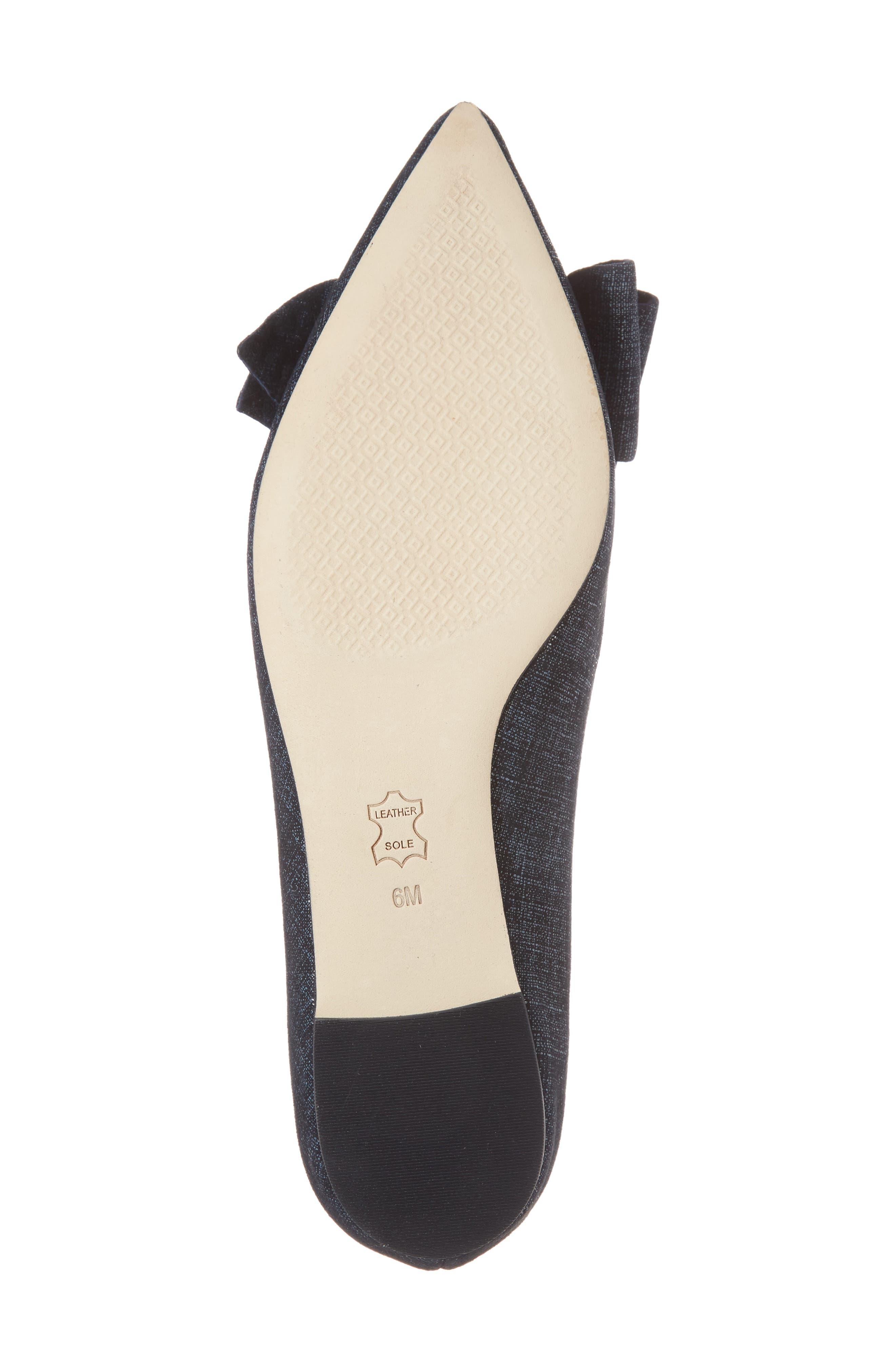 Alternate Image 6  - Tory Burch Rosalind Bow Pointy Toe Flat (Women)