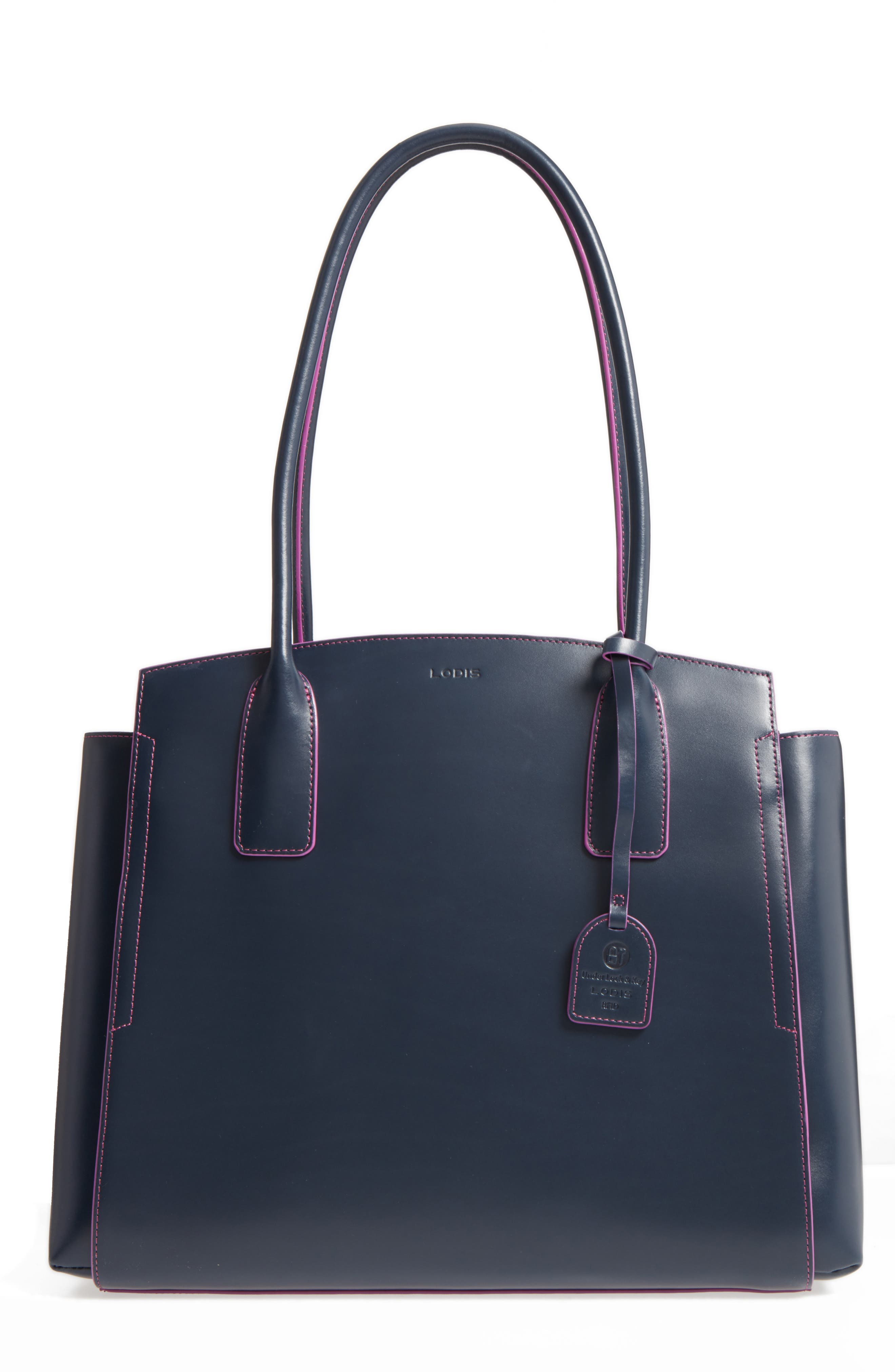 LODIS Los Angeles Audrey Under Lock & Key - Zola RFID Leather Tote