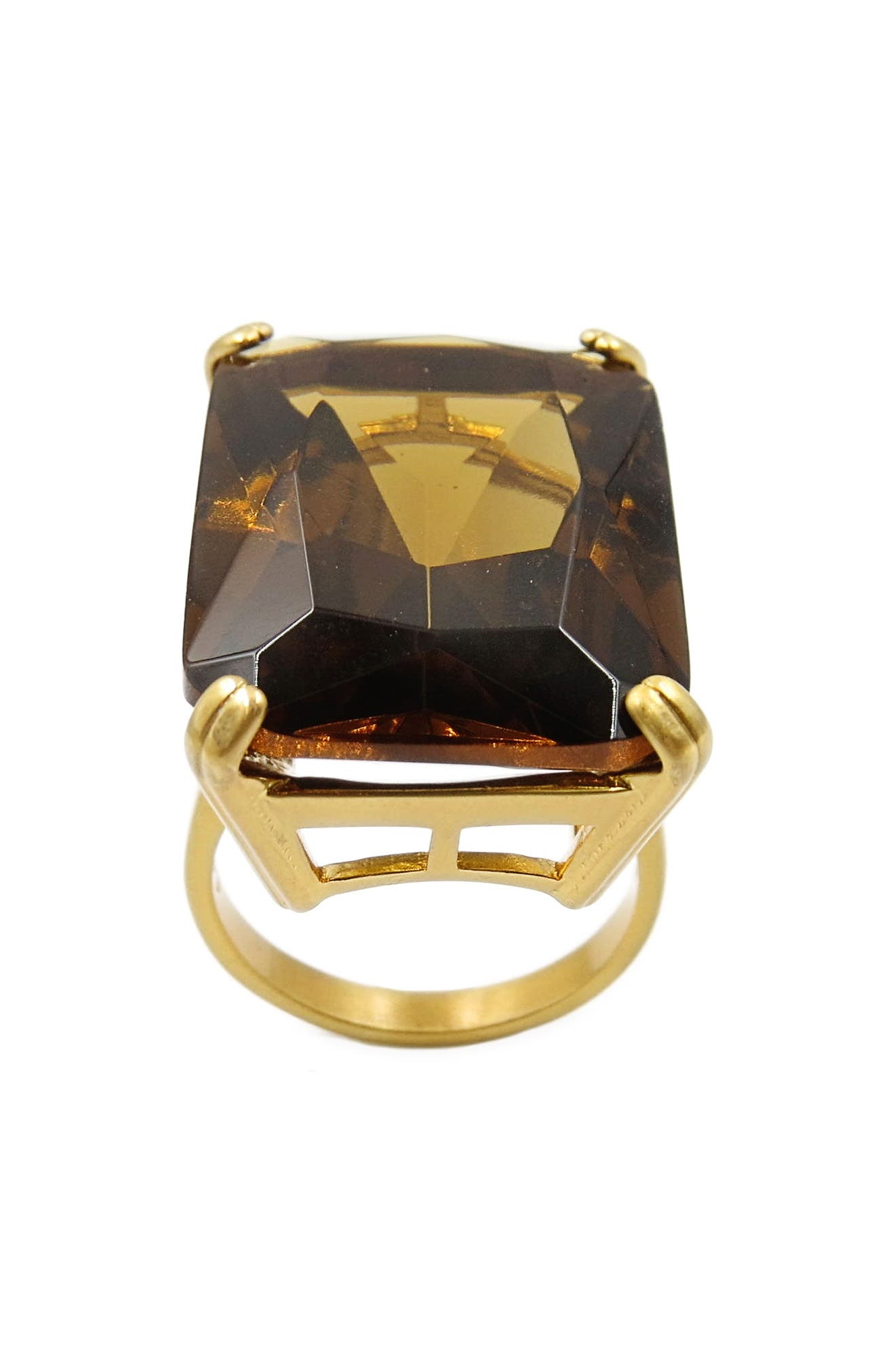 Cocktail Ring,                             Alternate thumbnail 3, color,                             Gold