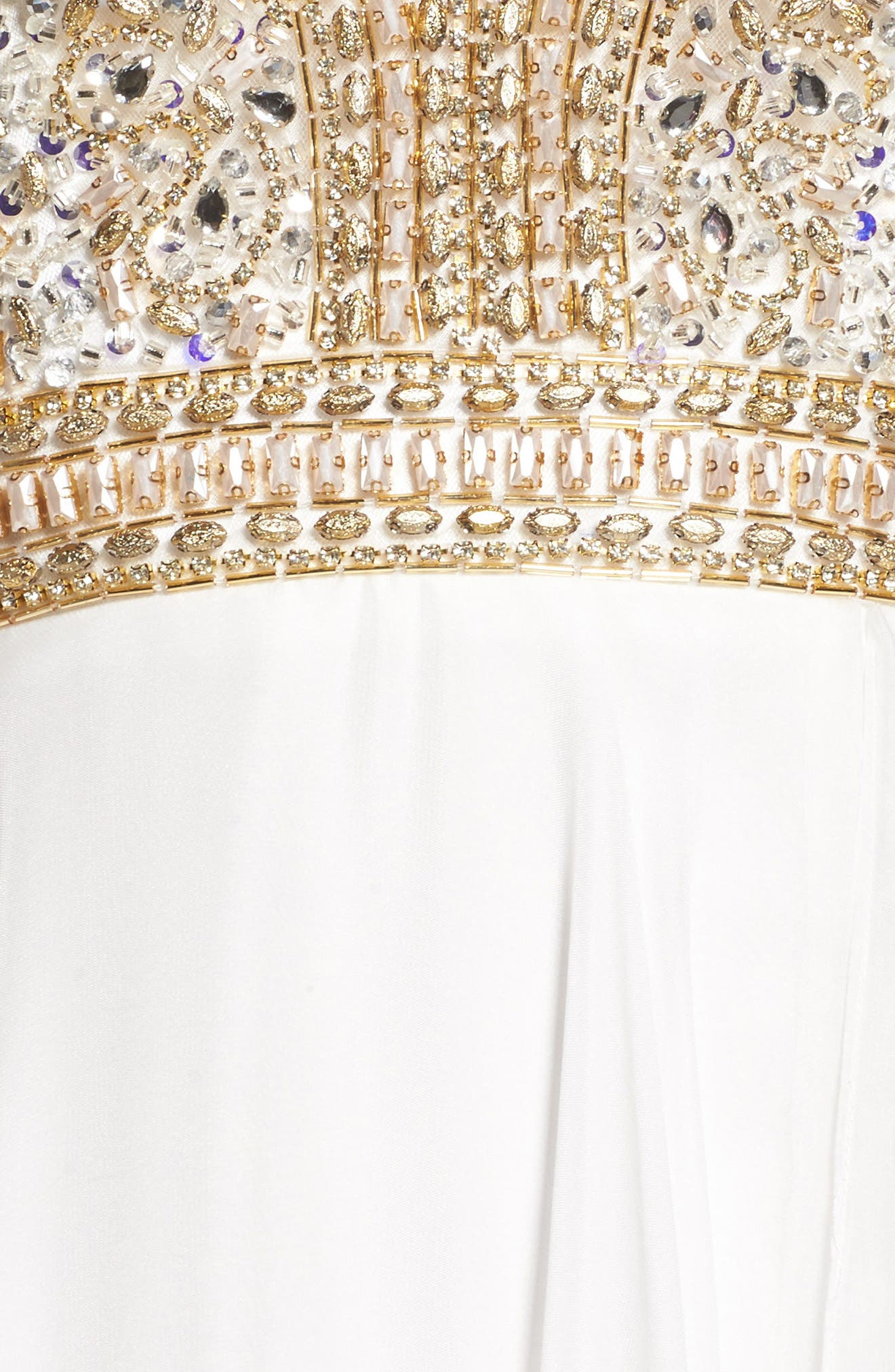 Alternate Image 5  - Mac Duggal Beaded Cutout Bodice Gown