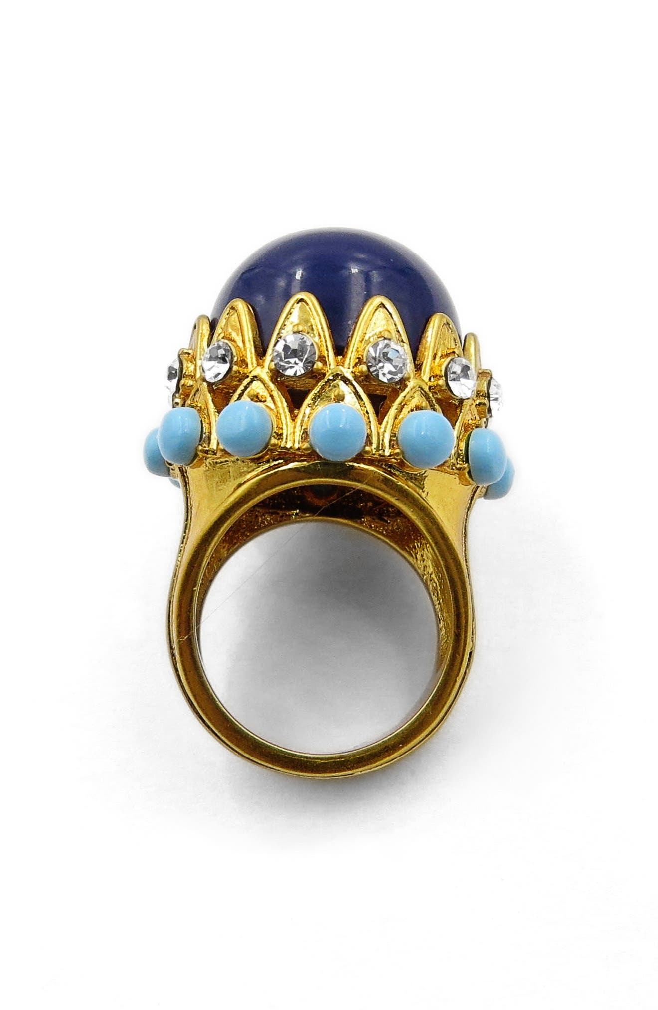 Dome Statement Ring,                         Main,                         color, Gold