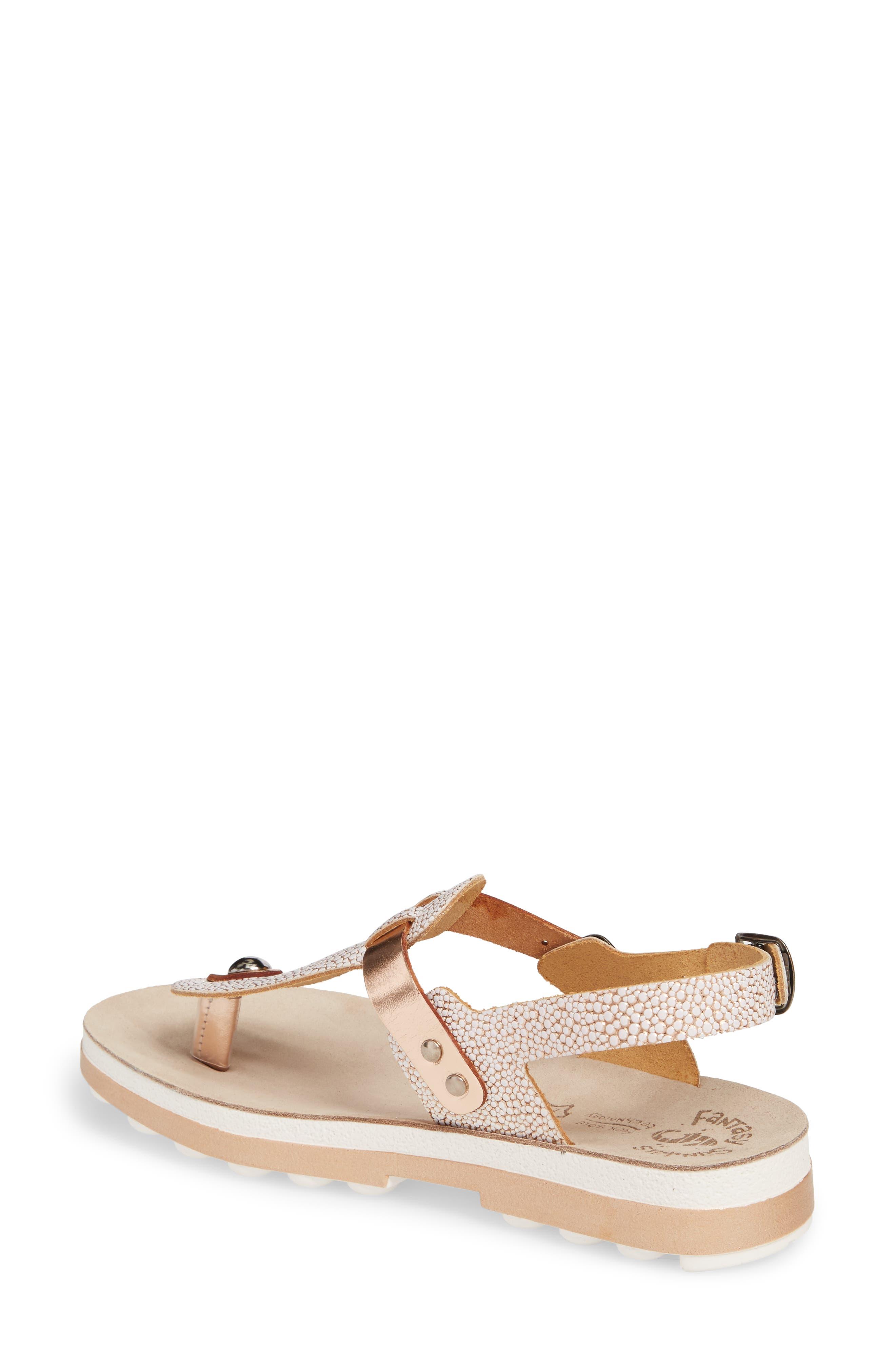 Marlena Fantasy Sandal,                             Alternate thumbnail 2, color,                             Rose Gold Leather