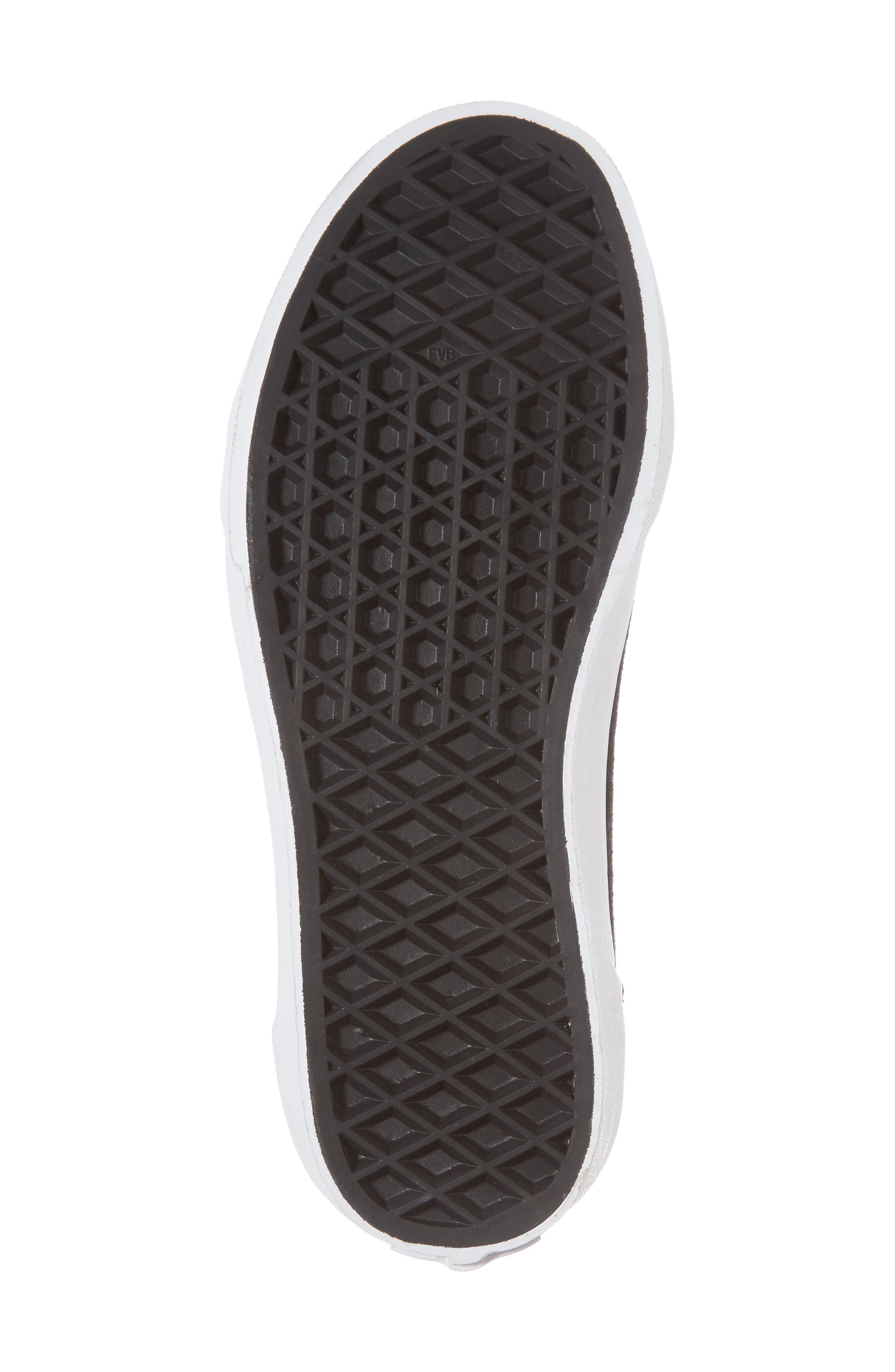 Old Skool Sneaker,                             Alternate thumbnail 6, color,                             Black/ Gold
