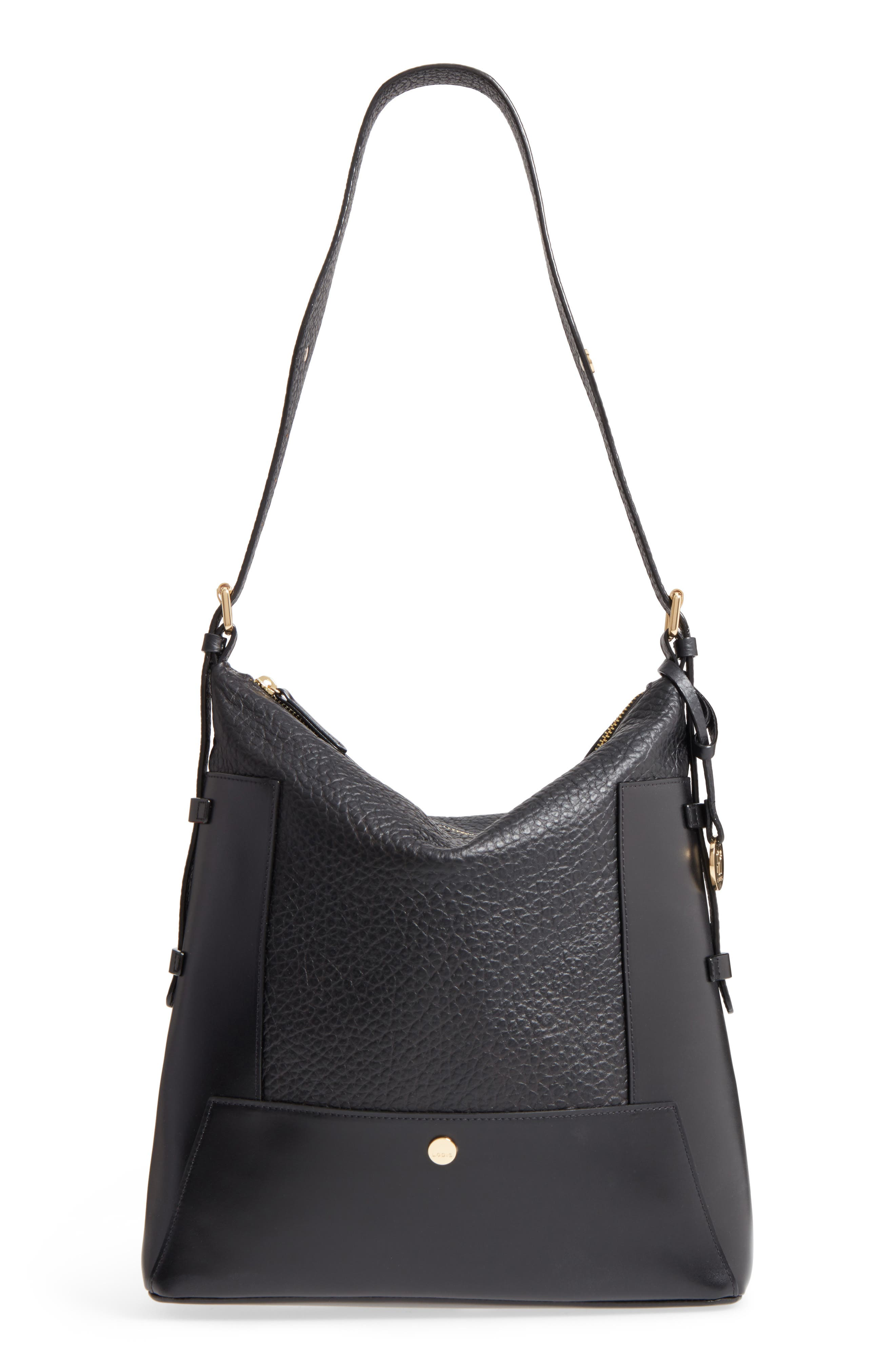 Lodis In the Mix Emerson RFID Leather Hobo Bag