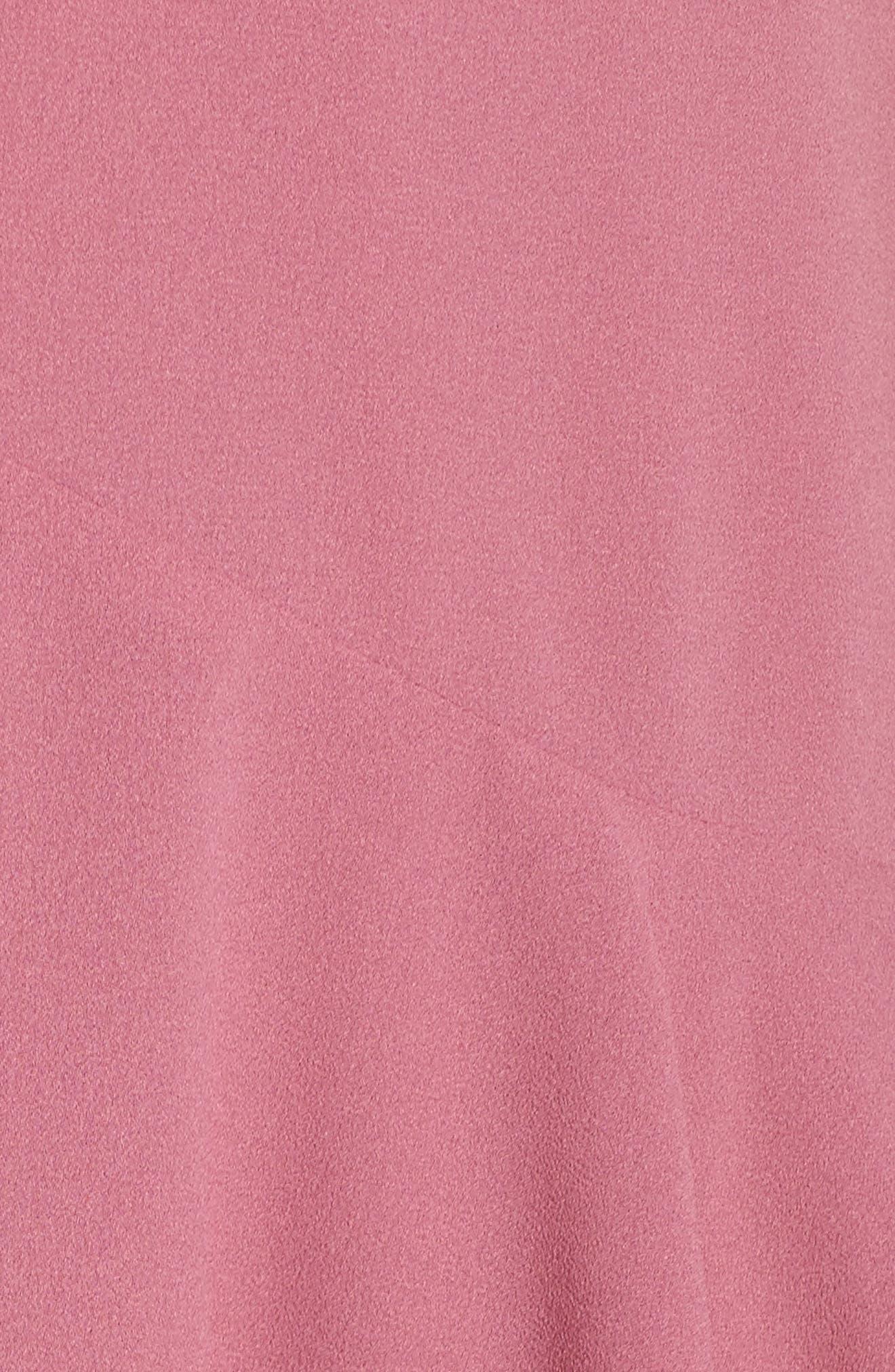 Ill Fated Romance Minidress,                             Alternate thumbnail 6, color,                             Peony