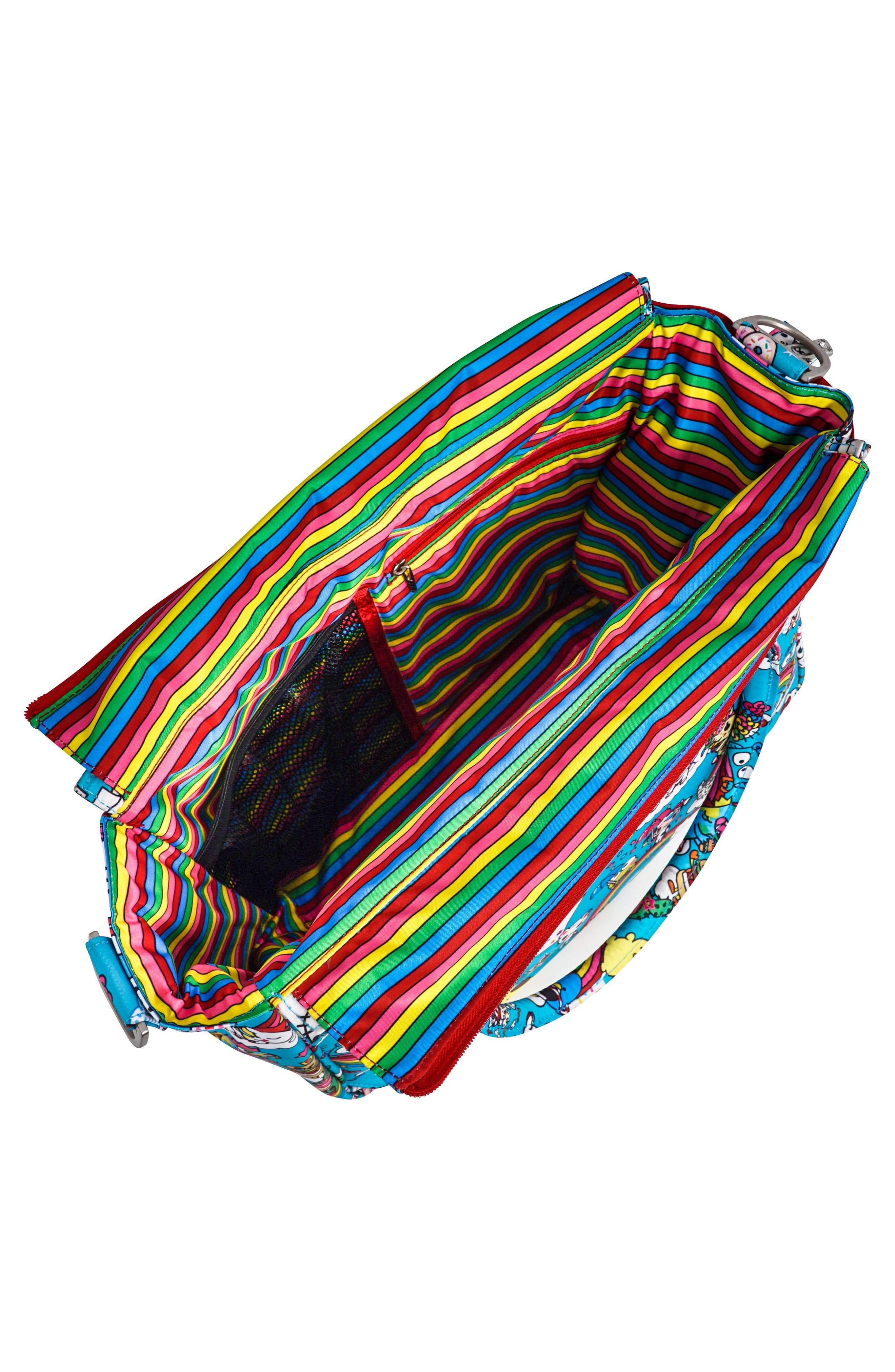 x tokidoki for Hello Sanrio Rainbow Dreams Sporty Diaper Backpack,                             Alternate thumbnail 3, color,                             Rainbow Dreams