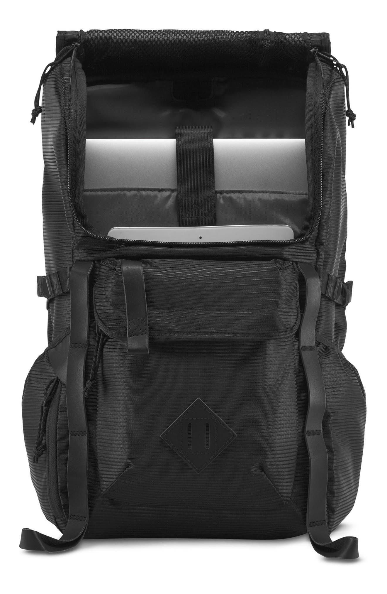 Hatchet DL Backpack,                             Alternate thumbnail 4, color,                             Black Line