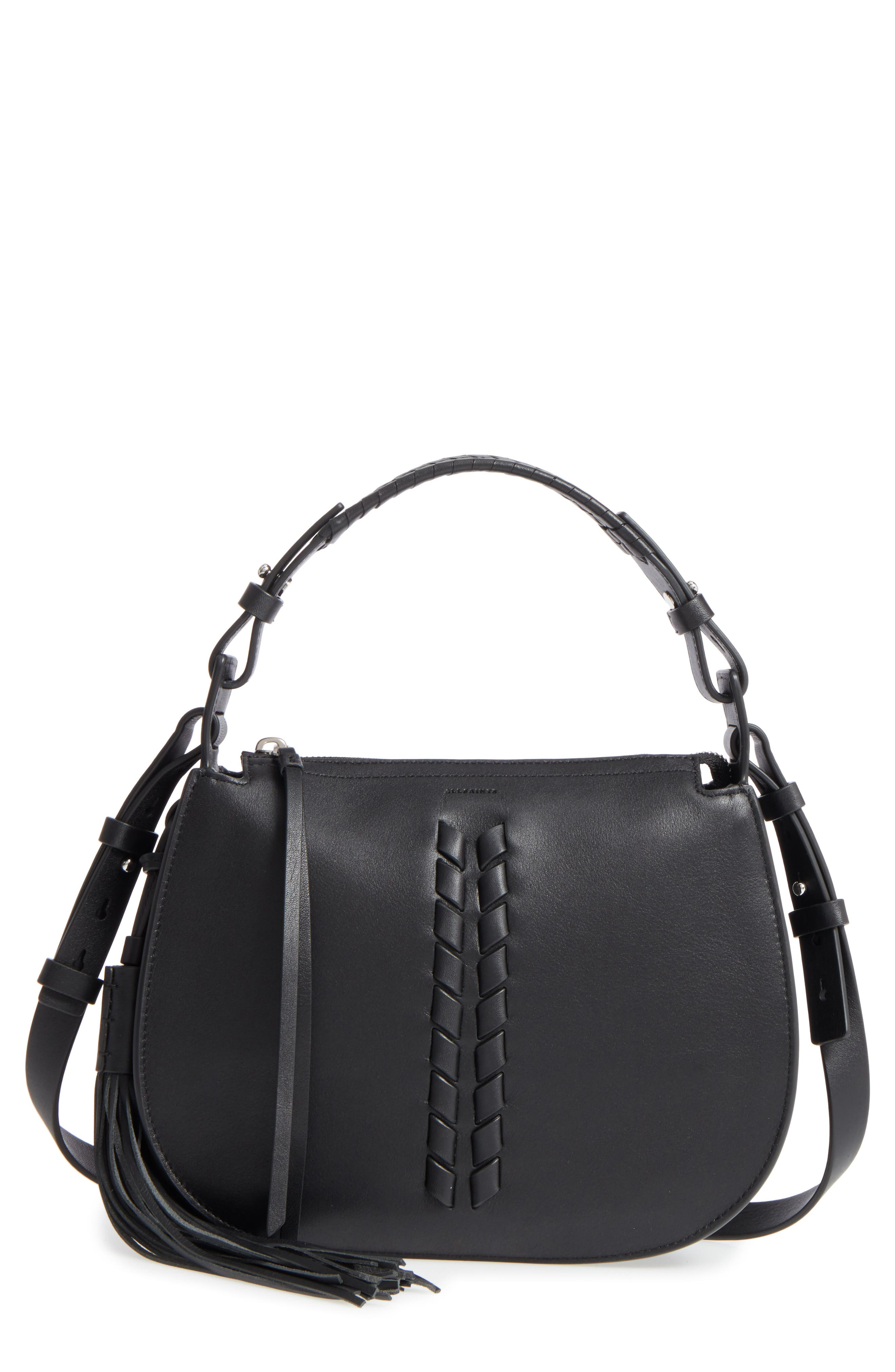 ALLSAINTS Kepi Leather Crossbody Bag