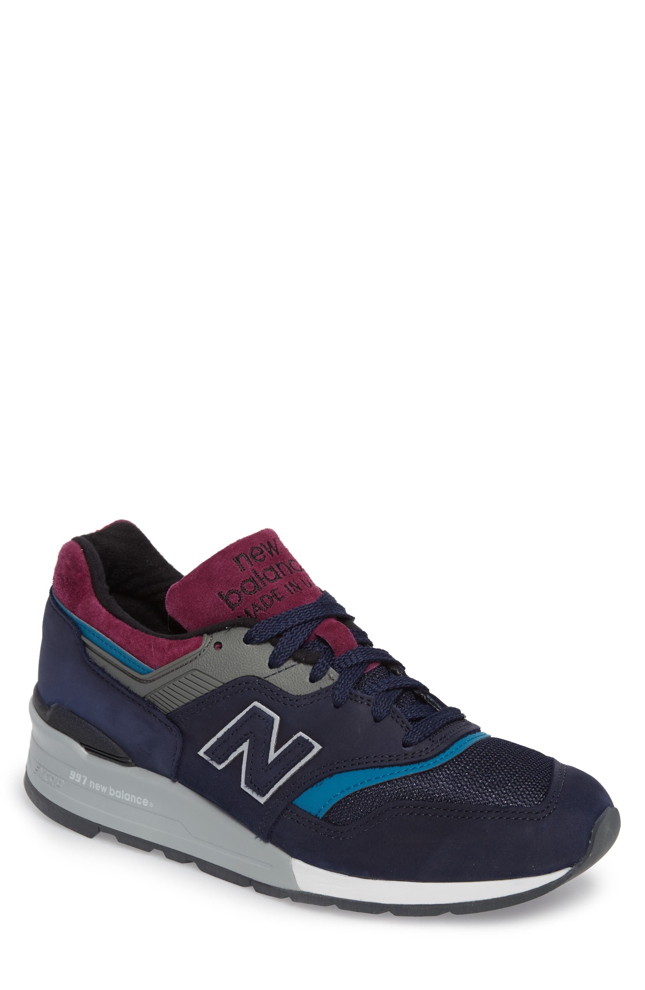 997 Sneaker,                         Main,                         color, Navy