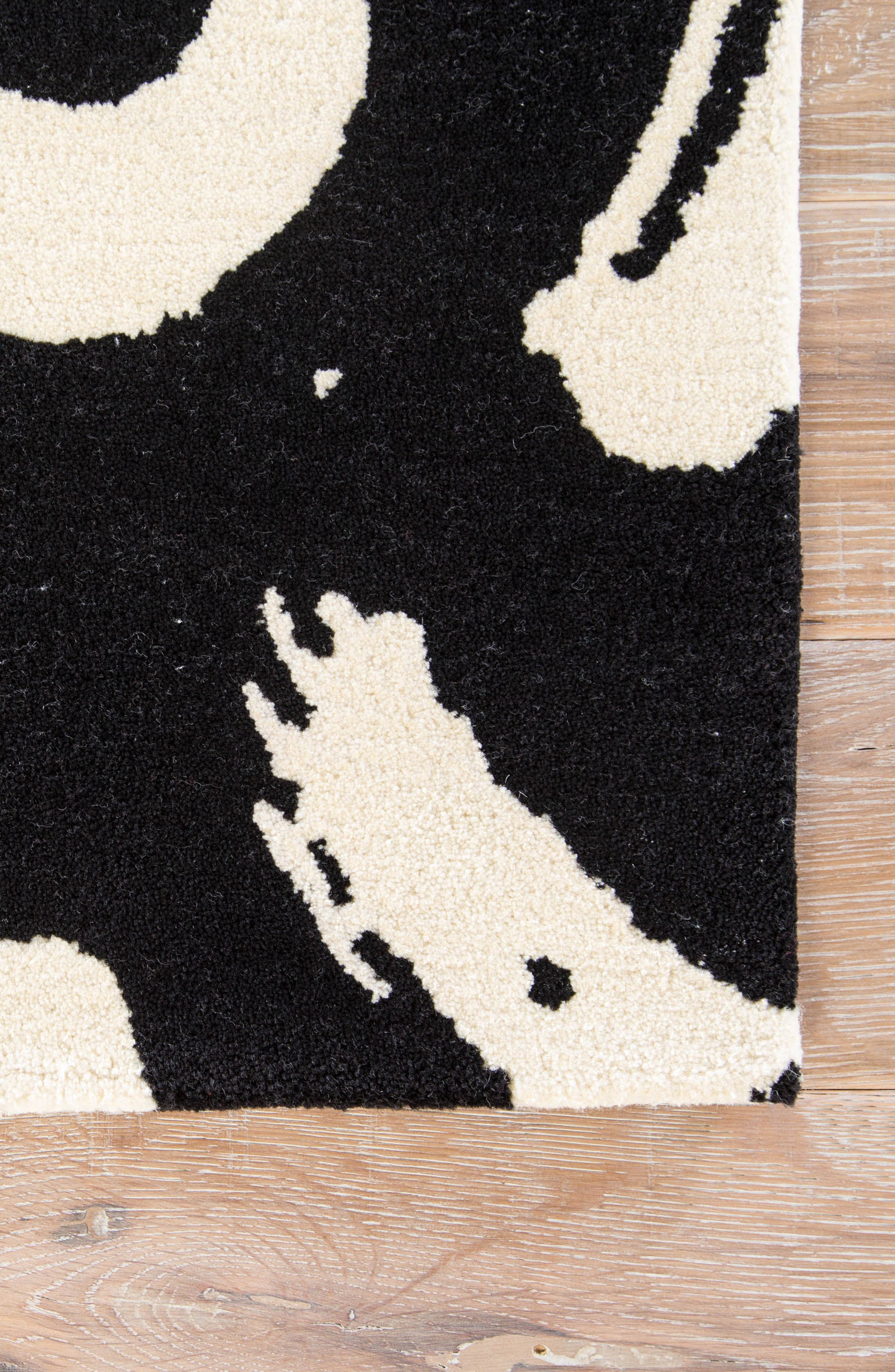 Alternate Image 4  - kate spade new york greenpoint turtledove rug