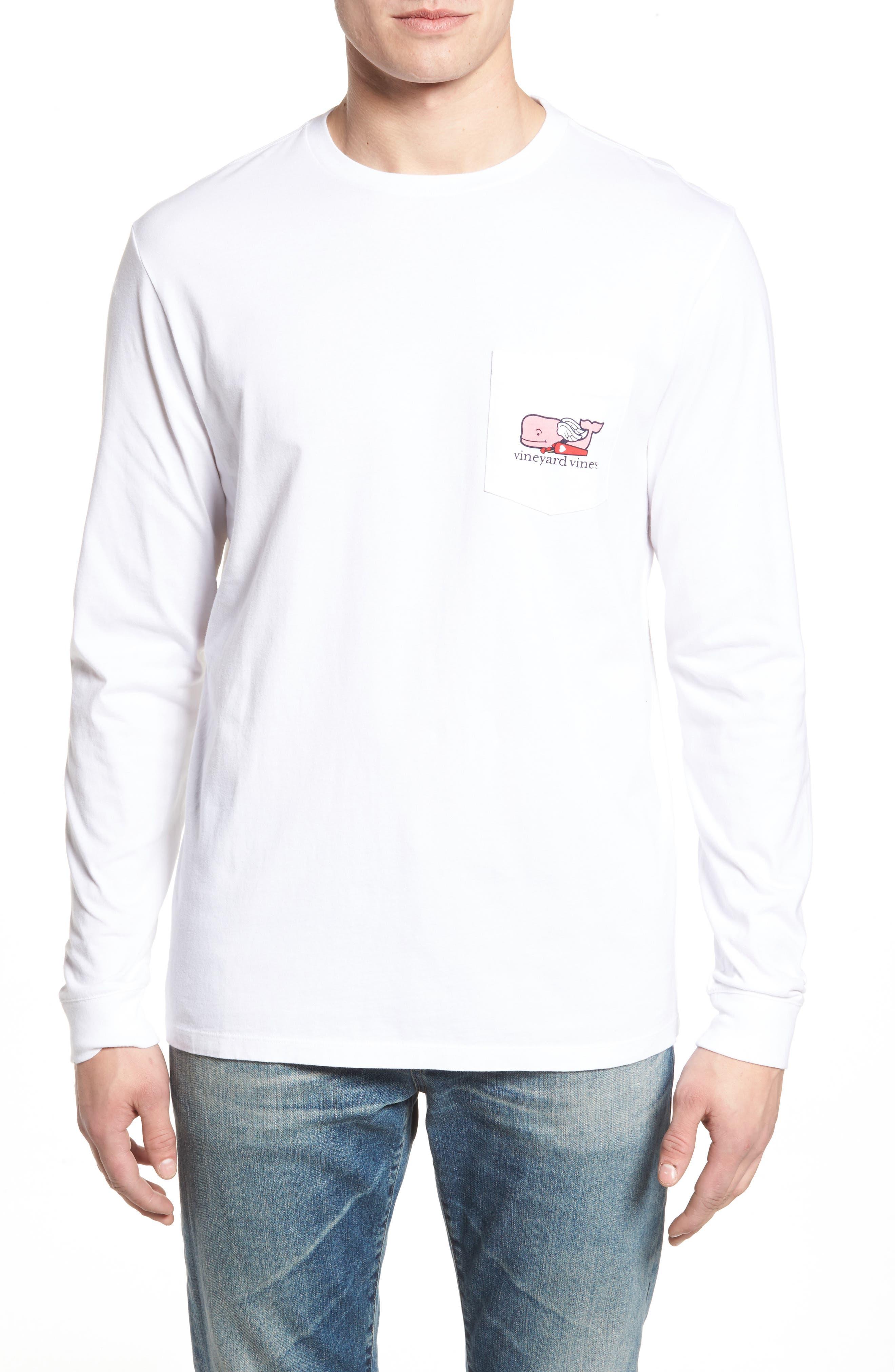 Alternate Image 1 Selected - vineyard vines Cupid Whale Pocket T-Shirt
