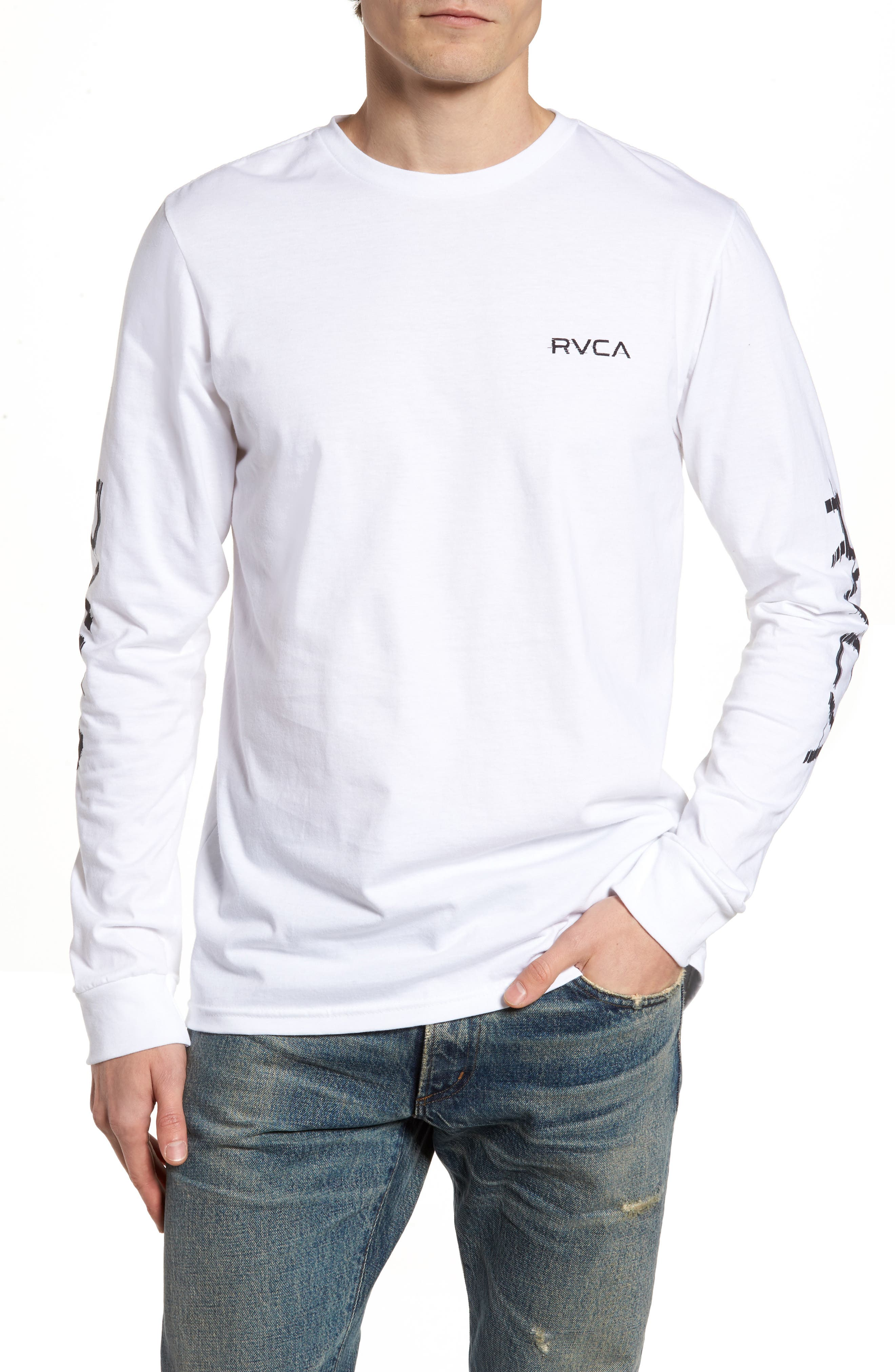 Alternate Image 1 Selected - RVCA Glitch Logo T-Shirt