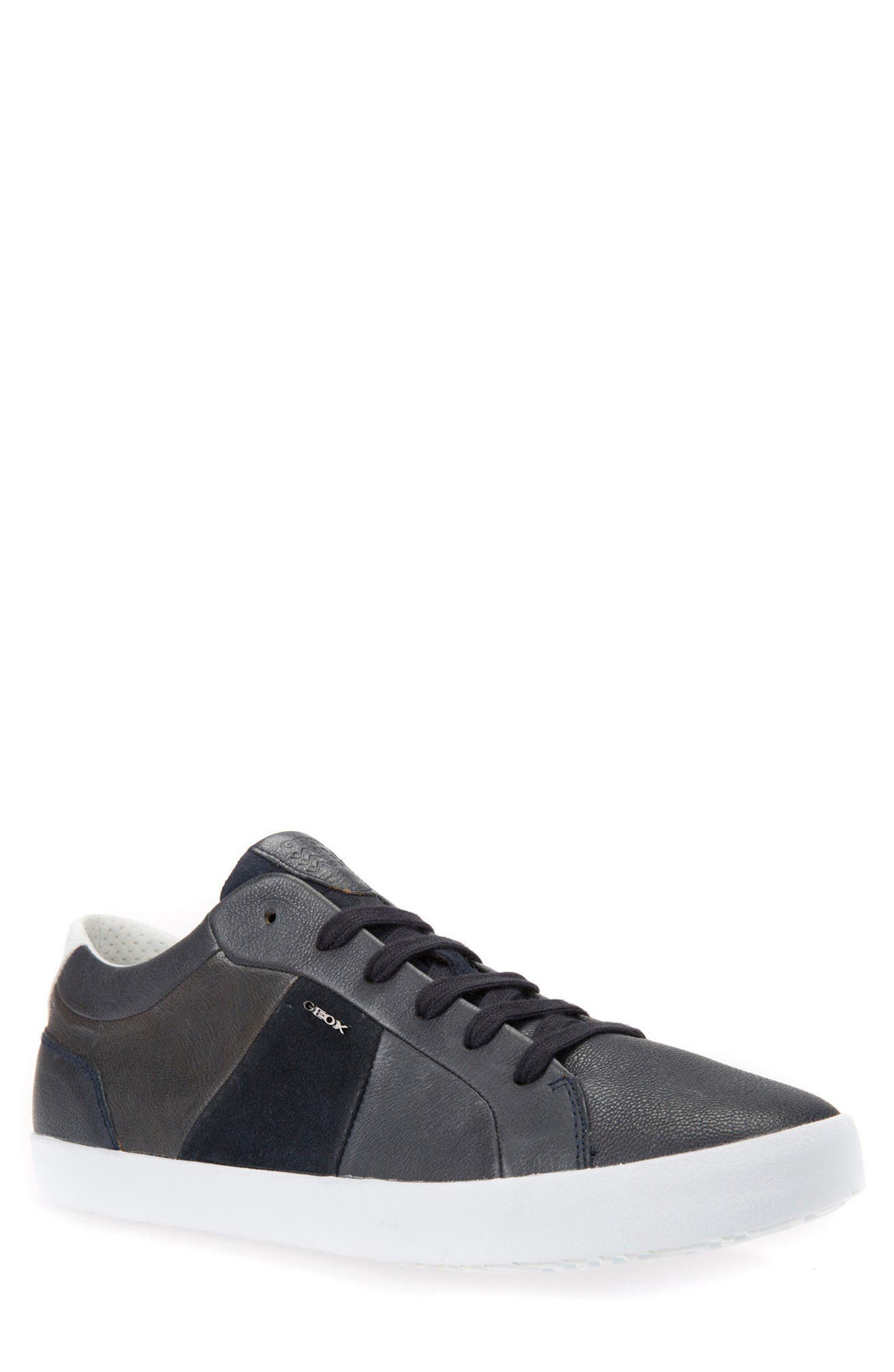 Smart 77 Sneaker,                         Main,                         color, Navy Leather