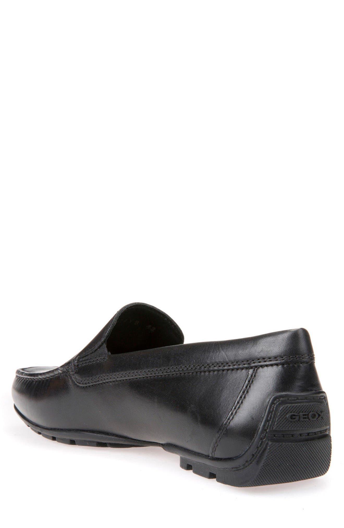 Moner 2Fit 2 Driving Moccasin,                             Alternate thumbnail 2, color,                             Black Leather