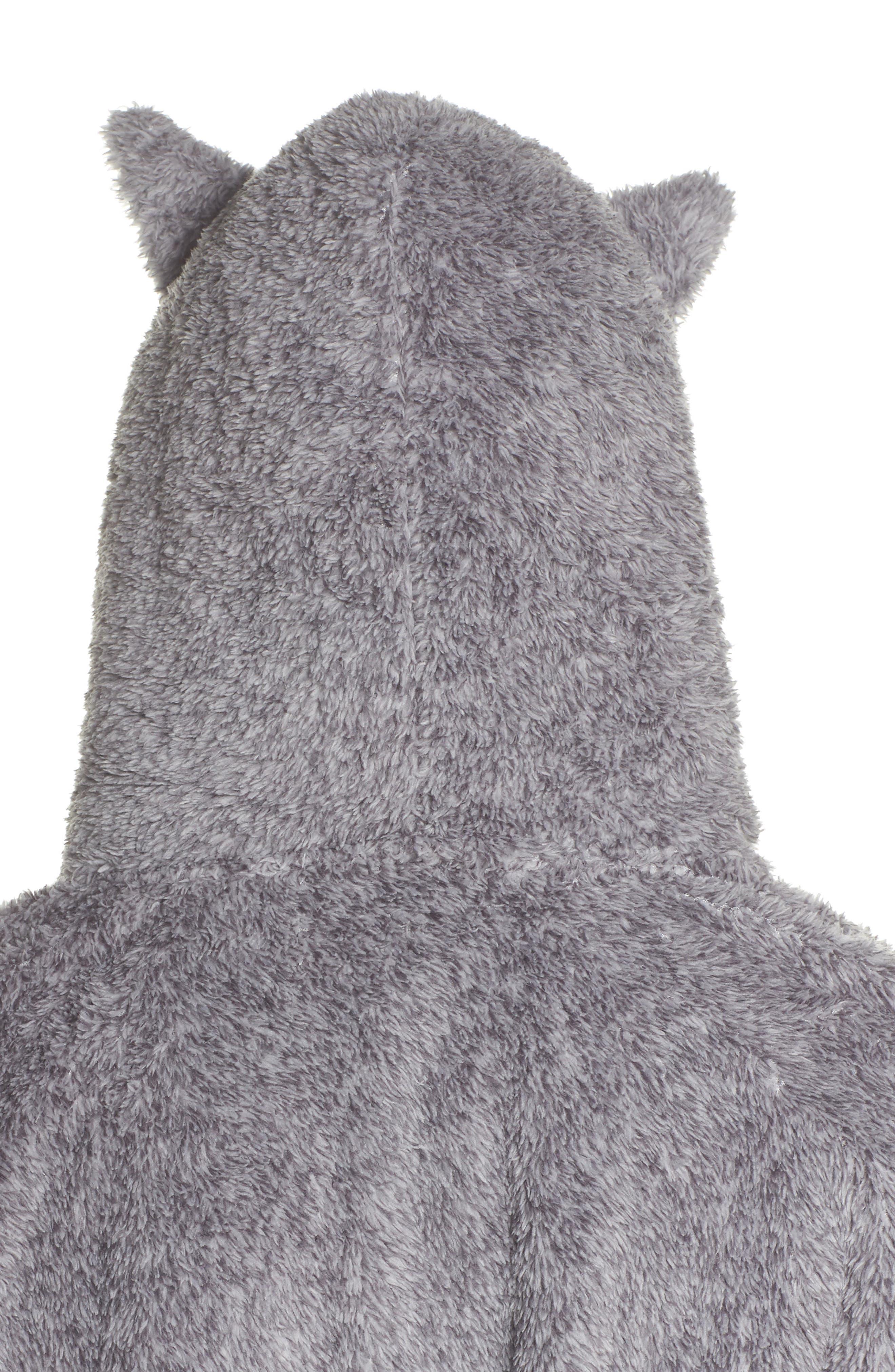 Alternate Image 4  - COZY ZOE Hooded Plush Pajamas