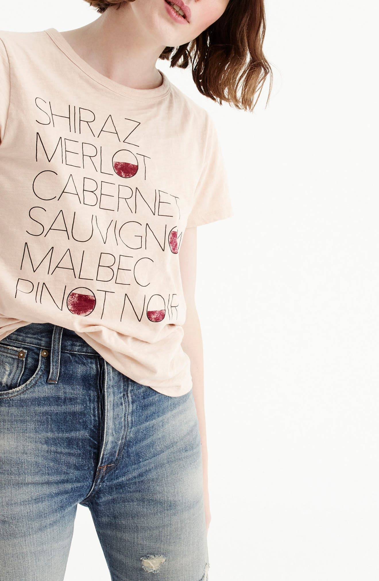 Alternate Image 2  - J.Crew Shiraz Tee