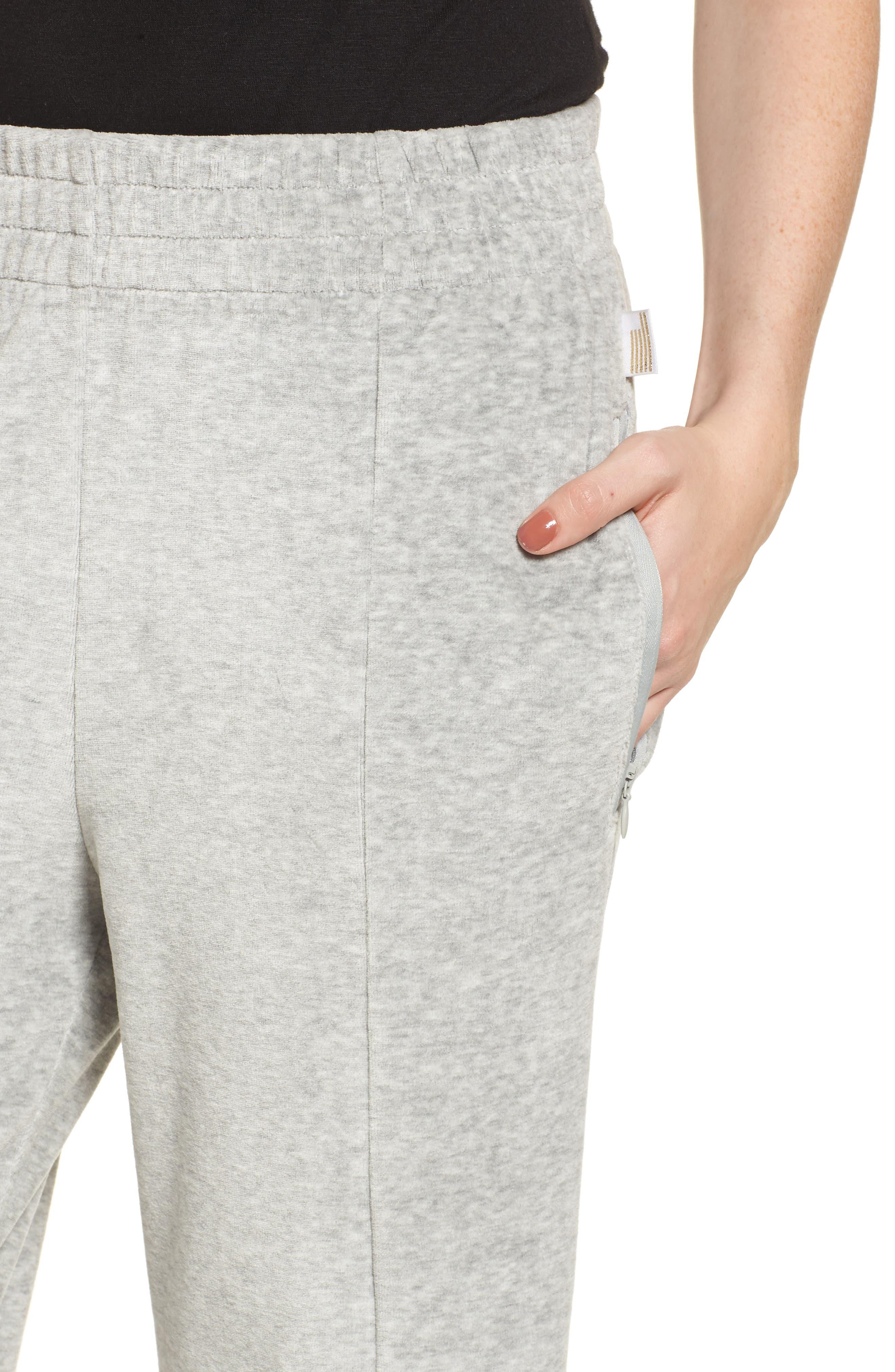 Alternate Image 4  - Good American Good Sweats The High Waist Sweatpants (Regular & Plus Size)