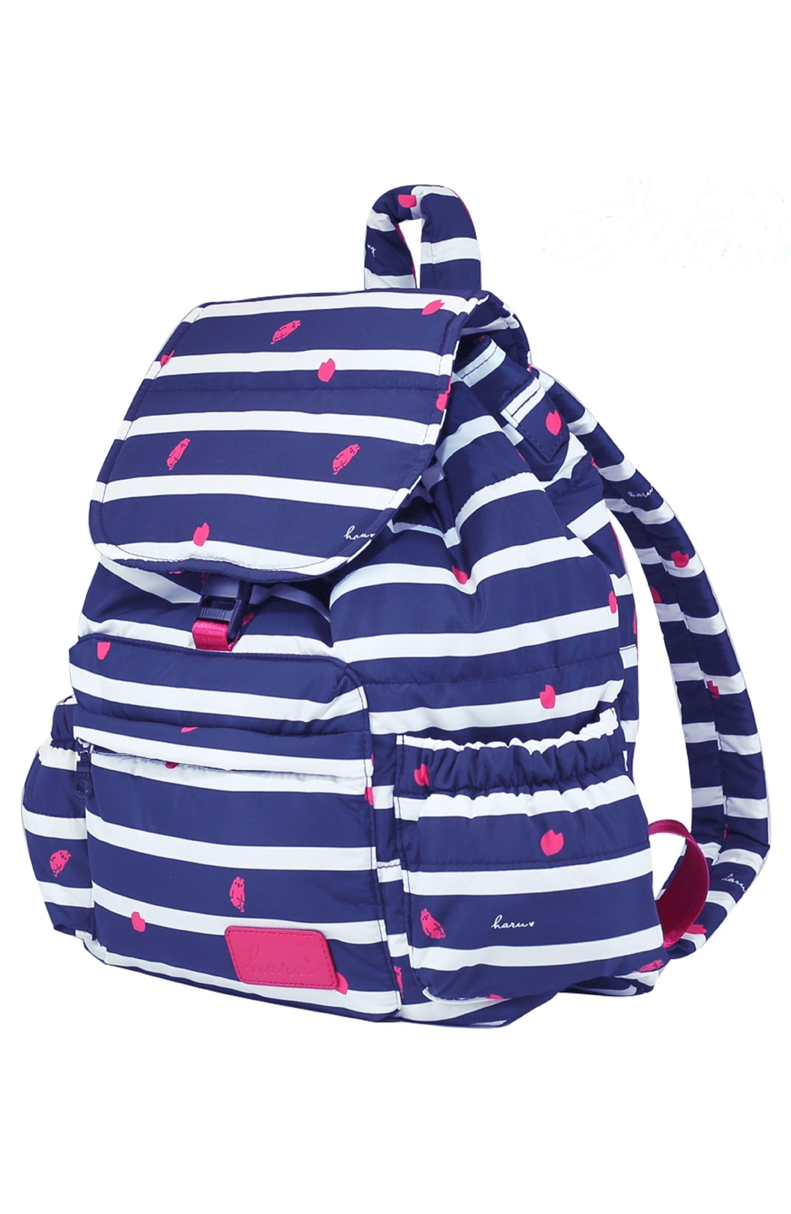 Alternate Image 3  - HARU Print Water-Repellent Diaper Backpack