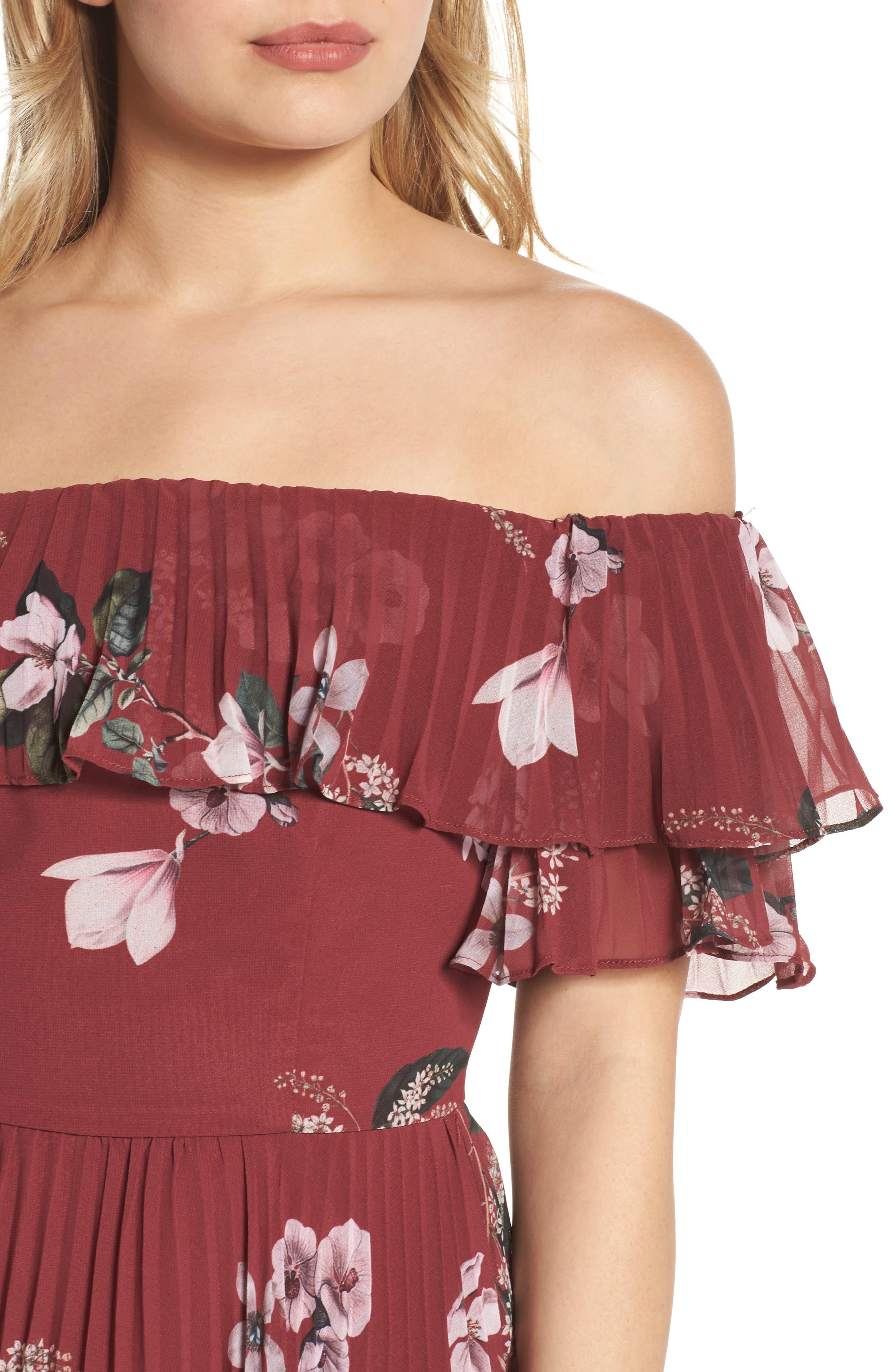 Alternate Image 5  - Keepsake the Label Last Dance Off the Shoulder Dress