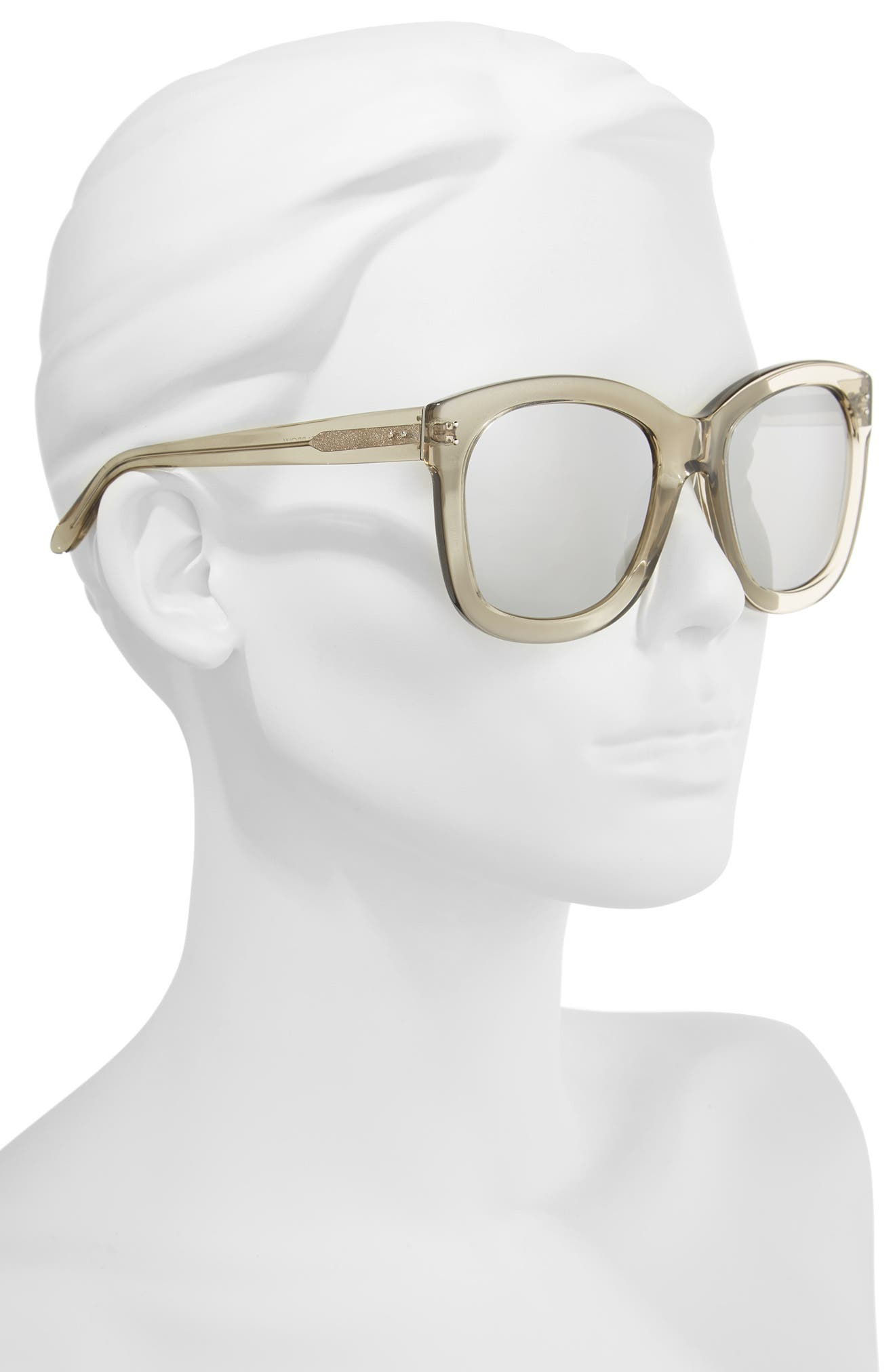 Alternate Image 2  - Linda Farrow 56mm Mirrored Sunglasses
