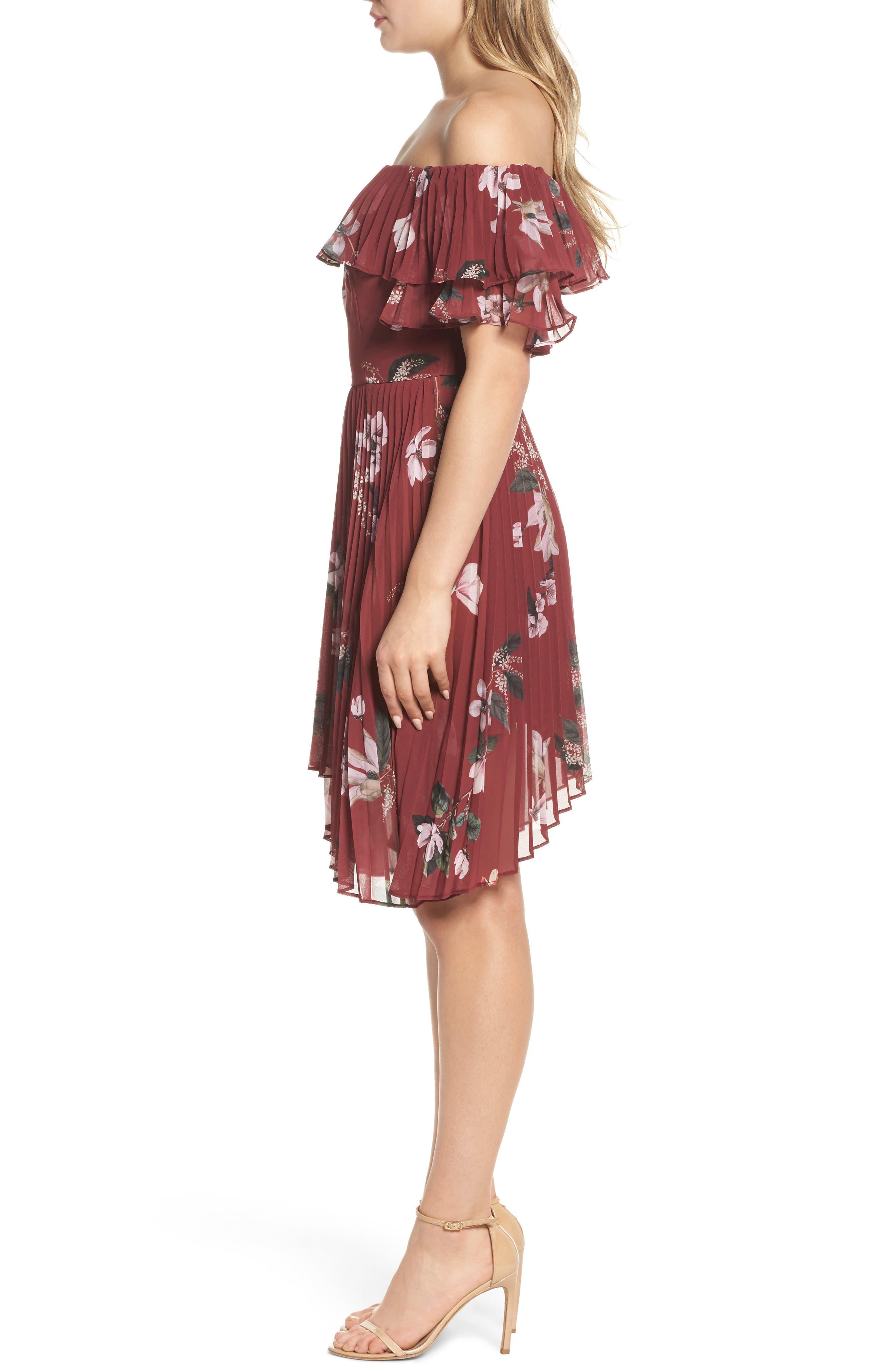 Alternate Image 4  - Keepsake the Label Last Dance Off the Shoulder Dress