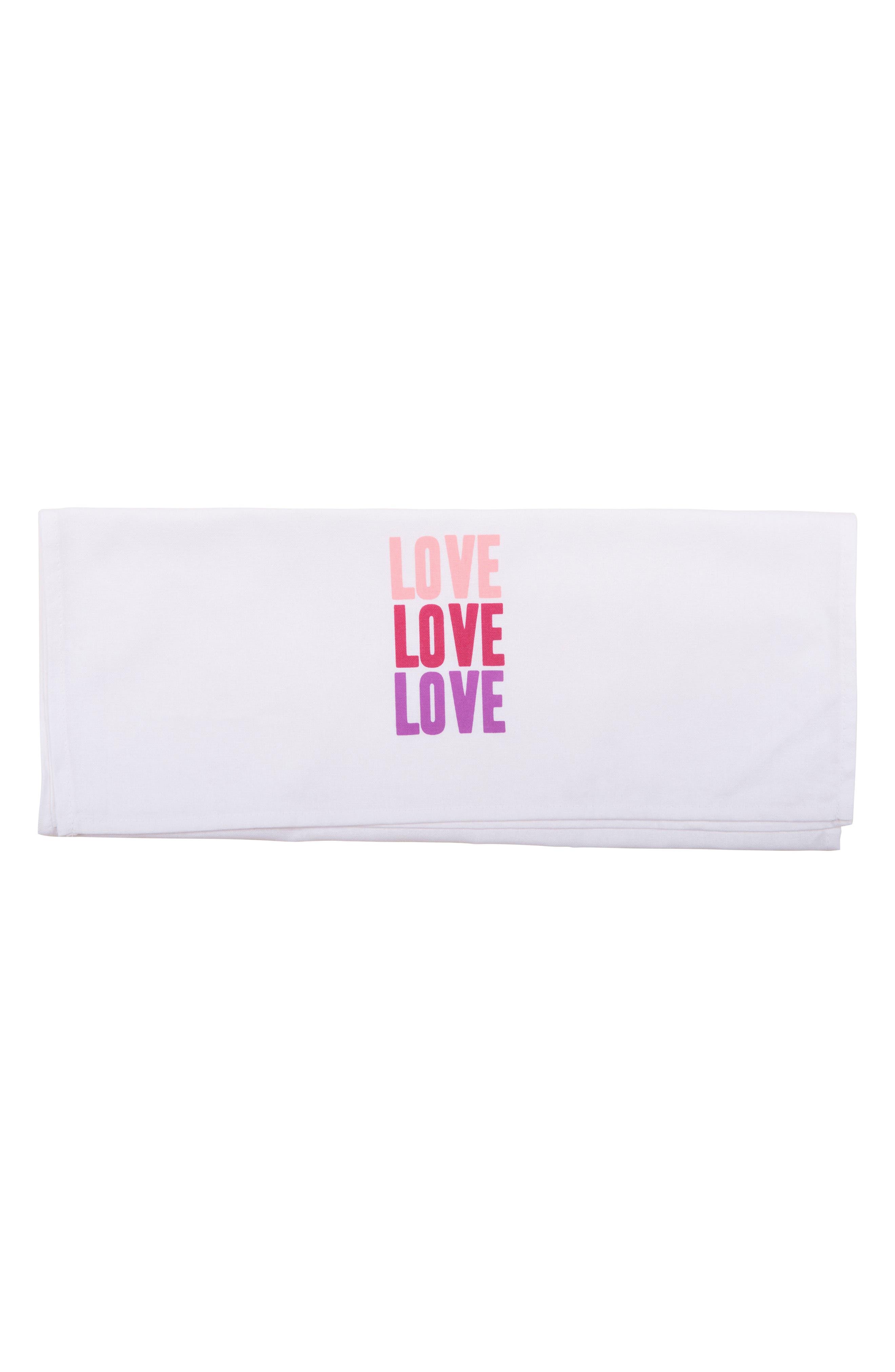 Alternate Image 9  - Sisters of Los Angeles Peace Love Happiness Set of 3 Tea Towels