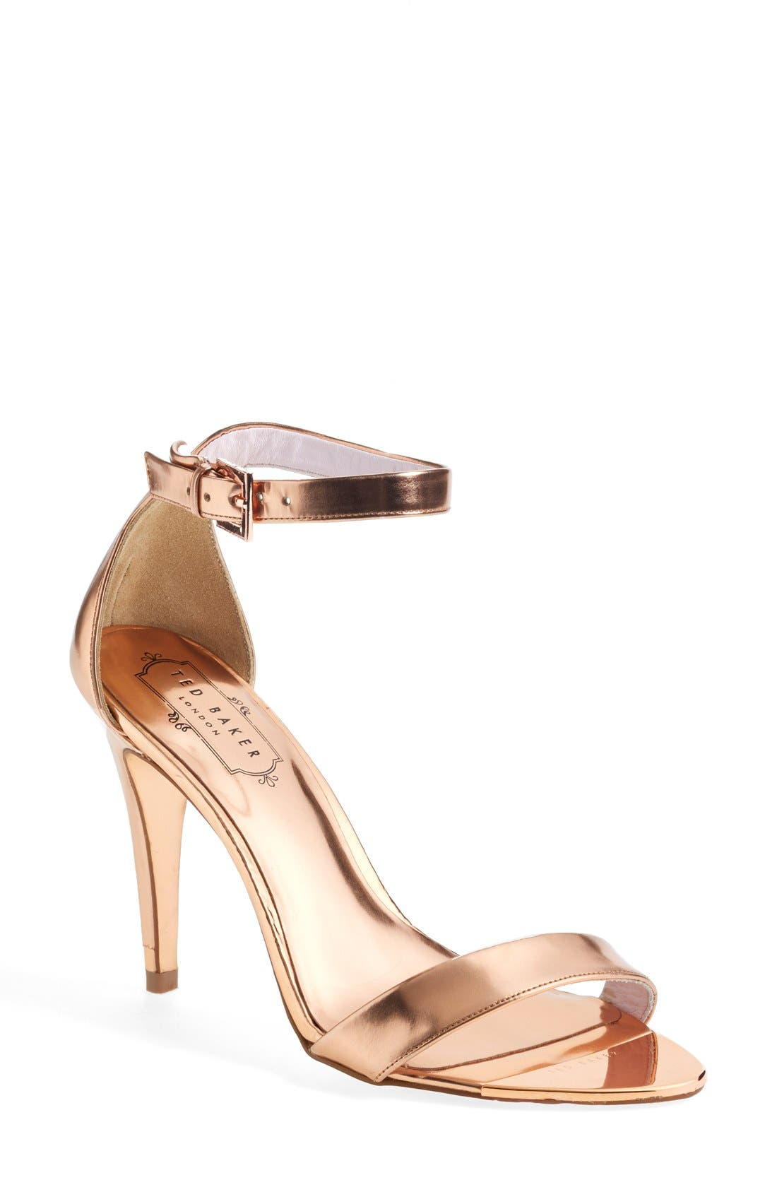 Alternate Image 1 Selected - Ted Baker London 'Juliennas' Leather Sandal (Women)