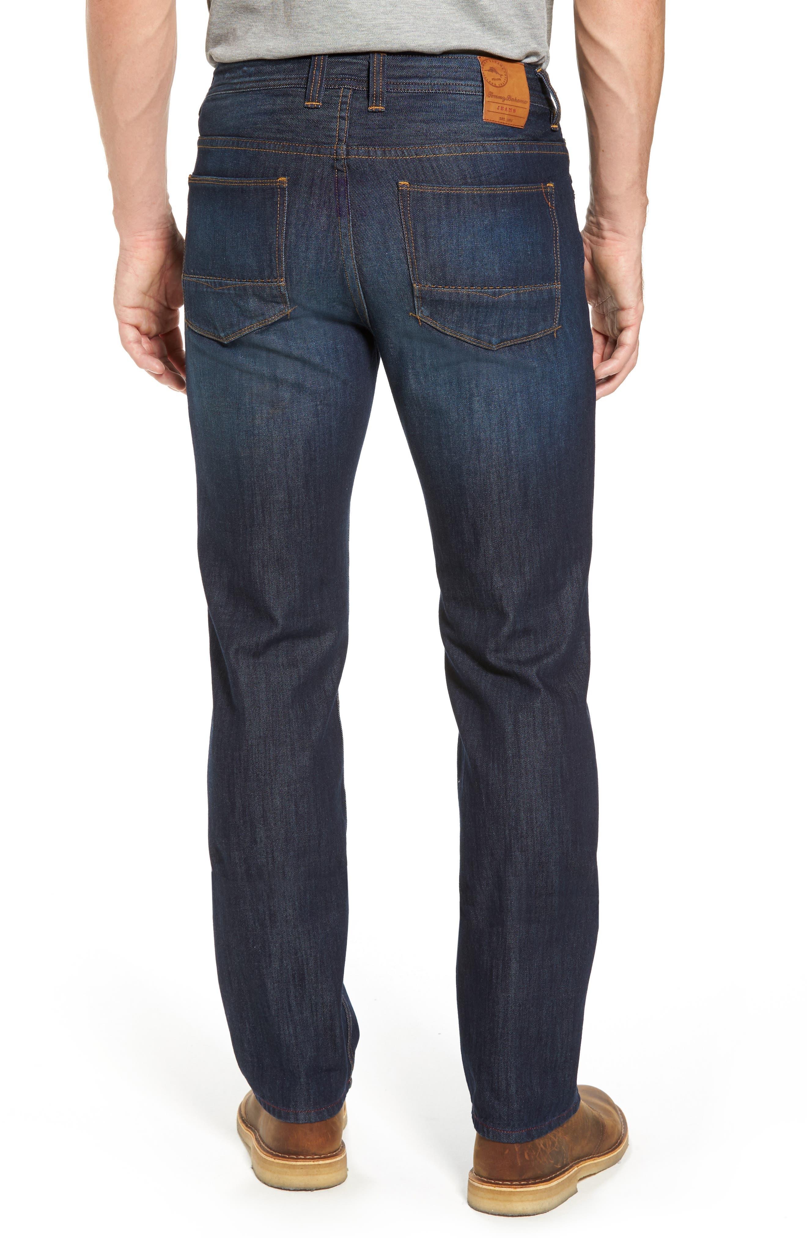 Alternate Image 2  - Tommy Bahama Barbados Straight Leg Jeans