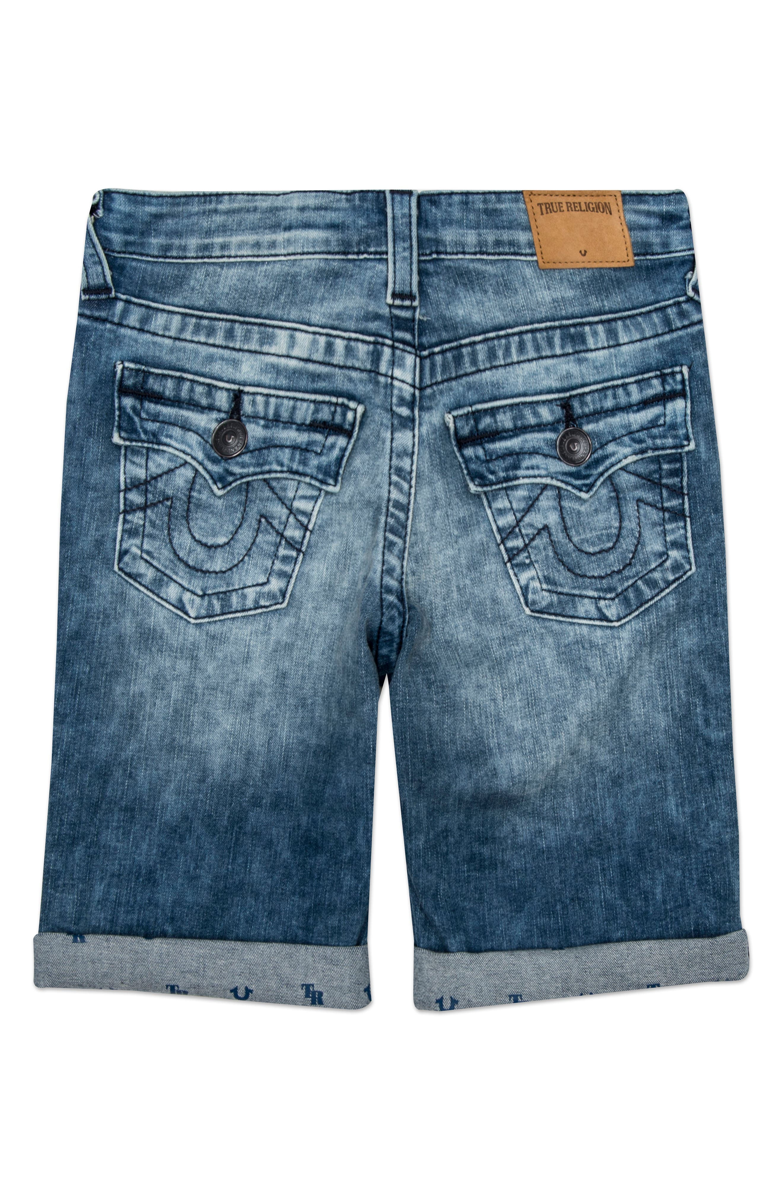 Alternate Image 2  - True Religion Brand Jeans Geno Shorts (Toddler Boys & Little Boys)