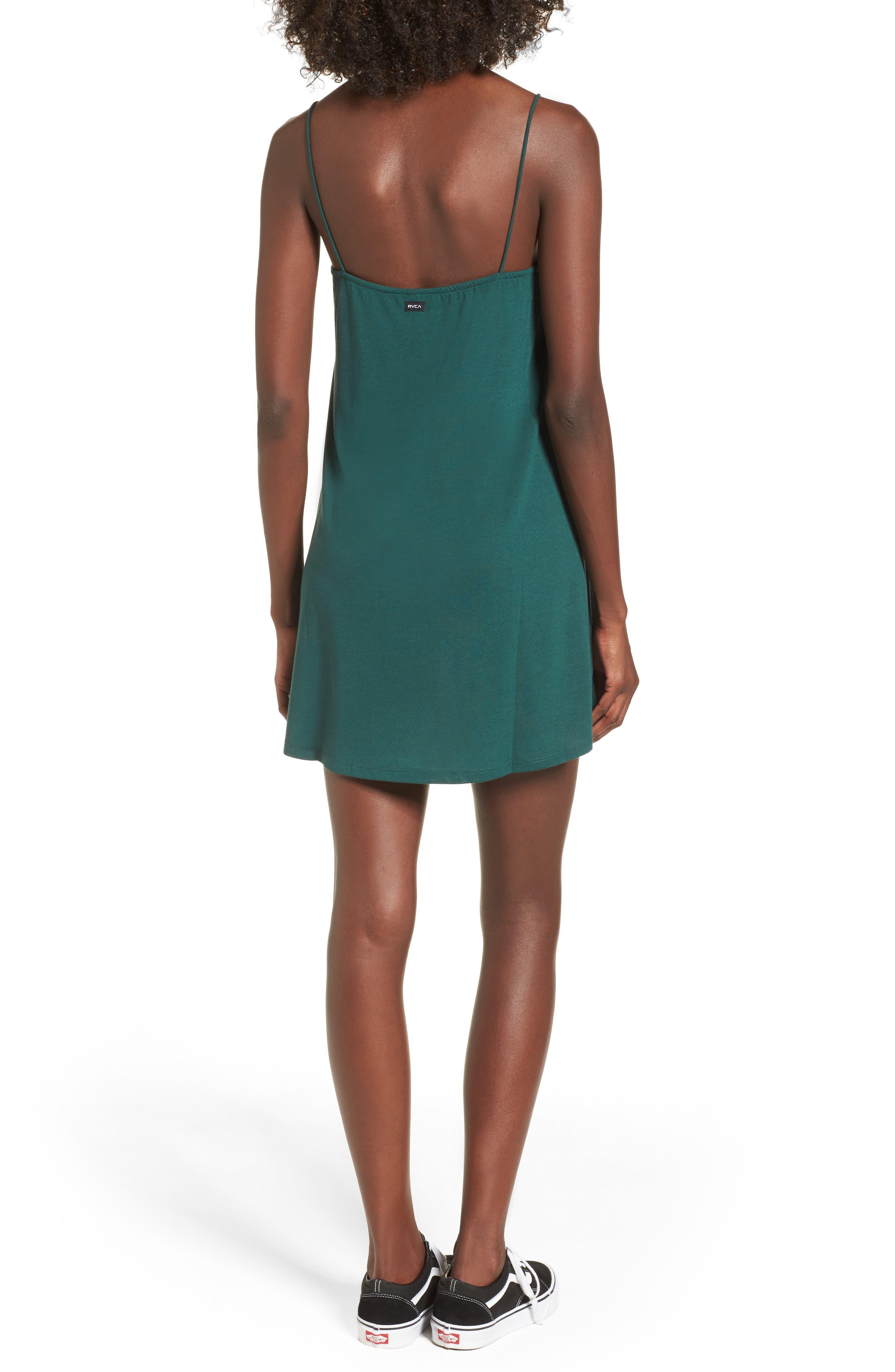 Alternate Image 2  - RVCA Rachel Camisole Dress