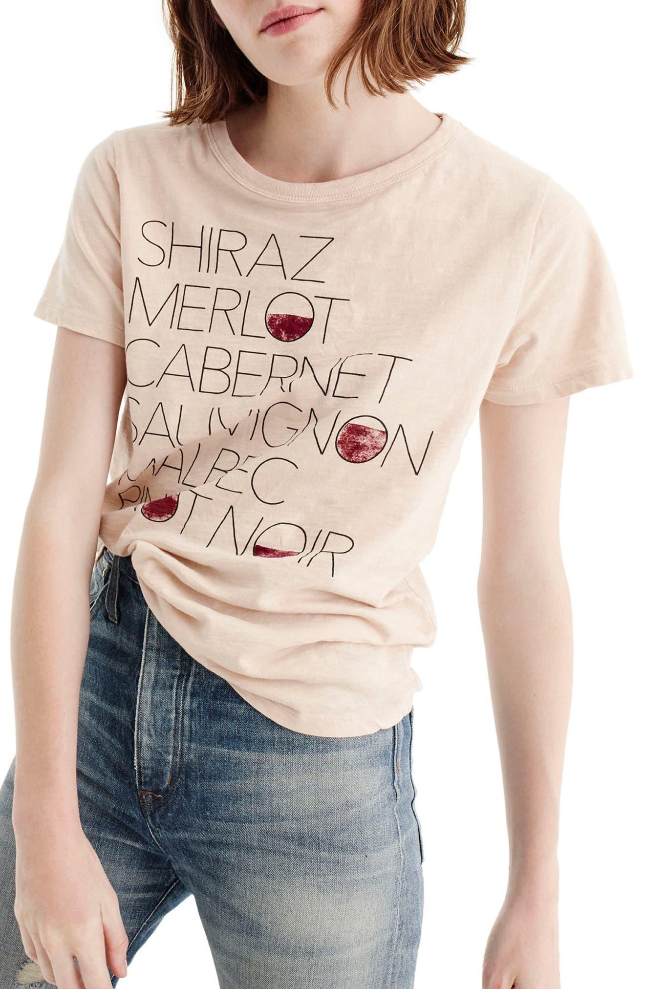 Shiraz Tee,                         Main,                         color, Dusty Shell