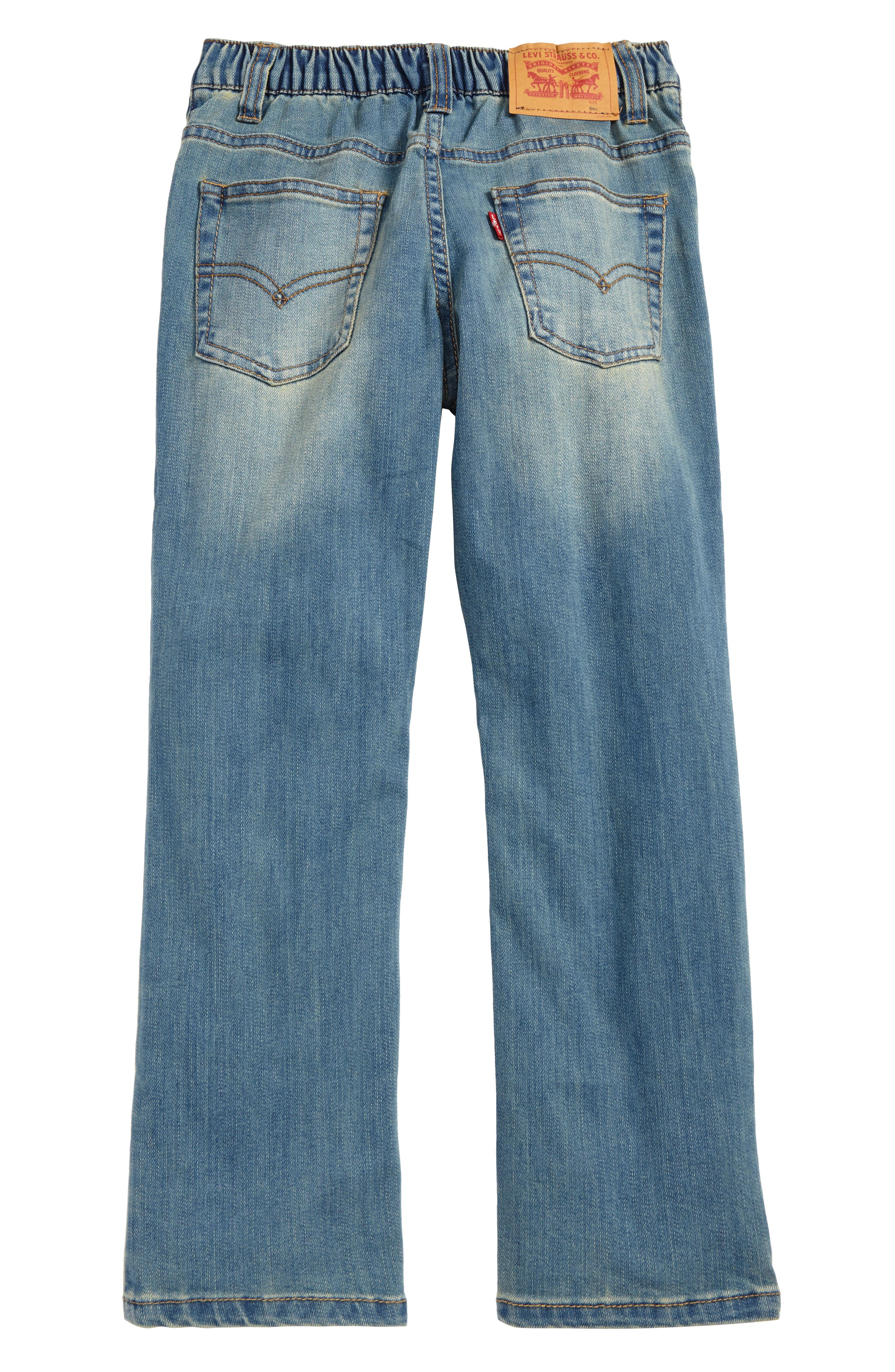Alternate Image 2  - Levi's® Comfort Slim Fit Jeans (Toddler Boys & Little Boys)