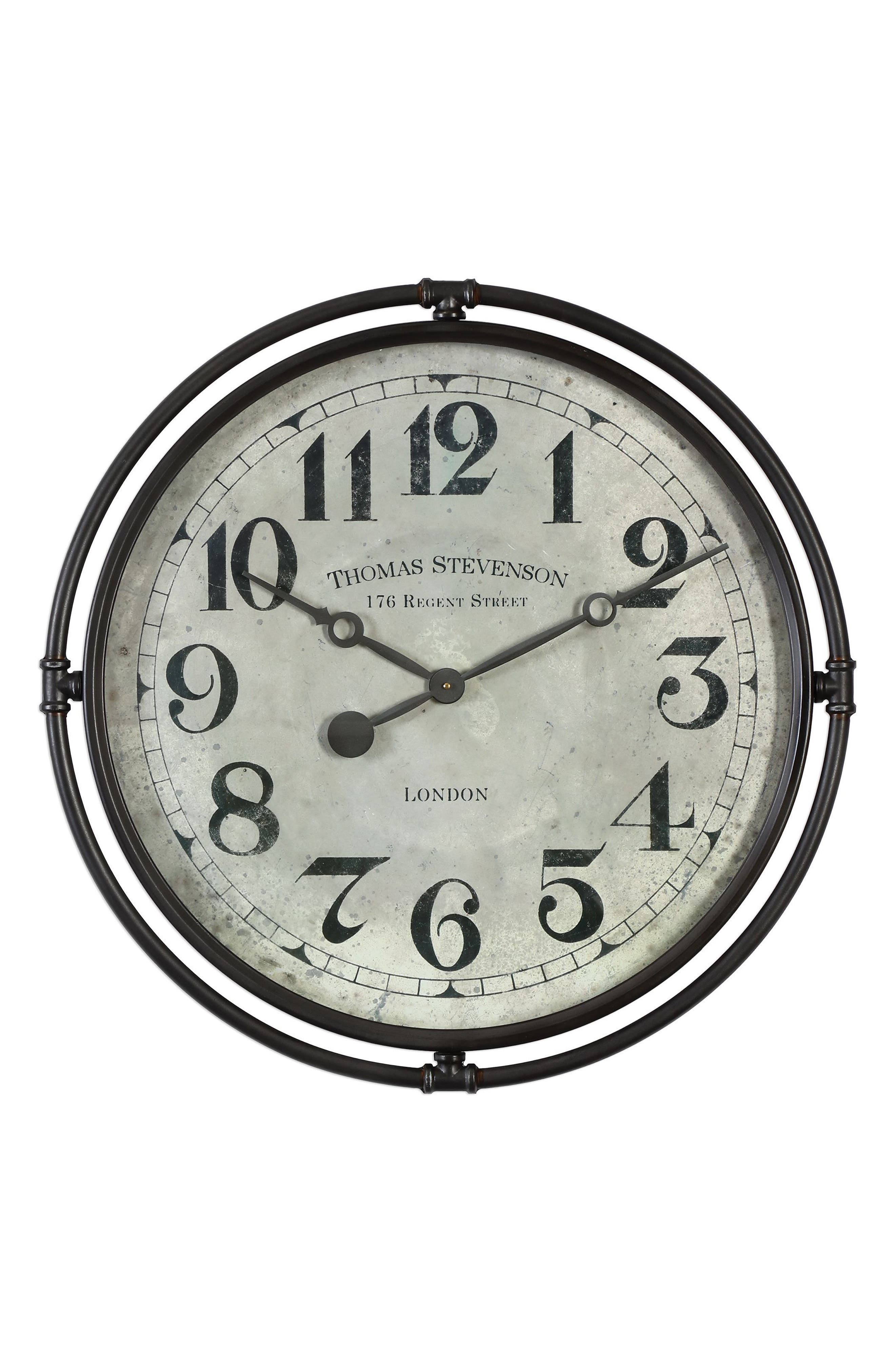 Alternate Image 1 Selected - Uttermost Nakul Wall Clock
