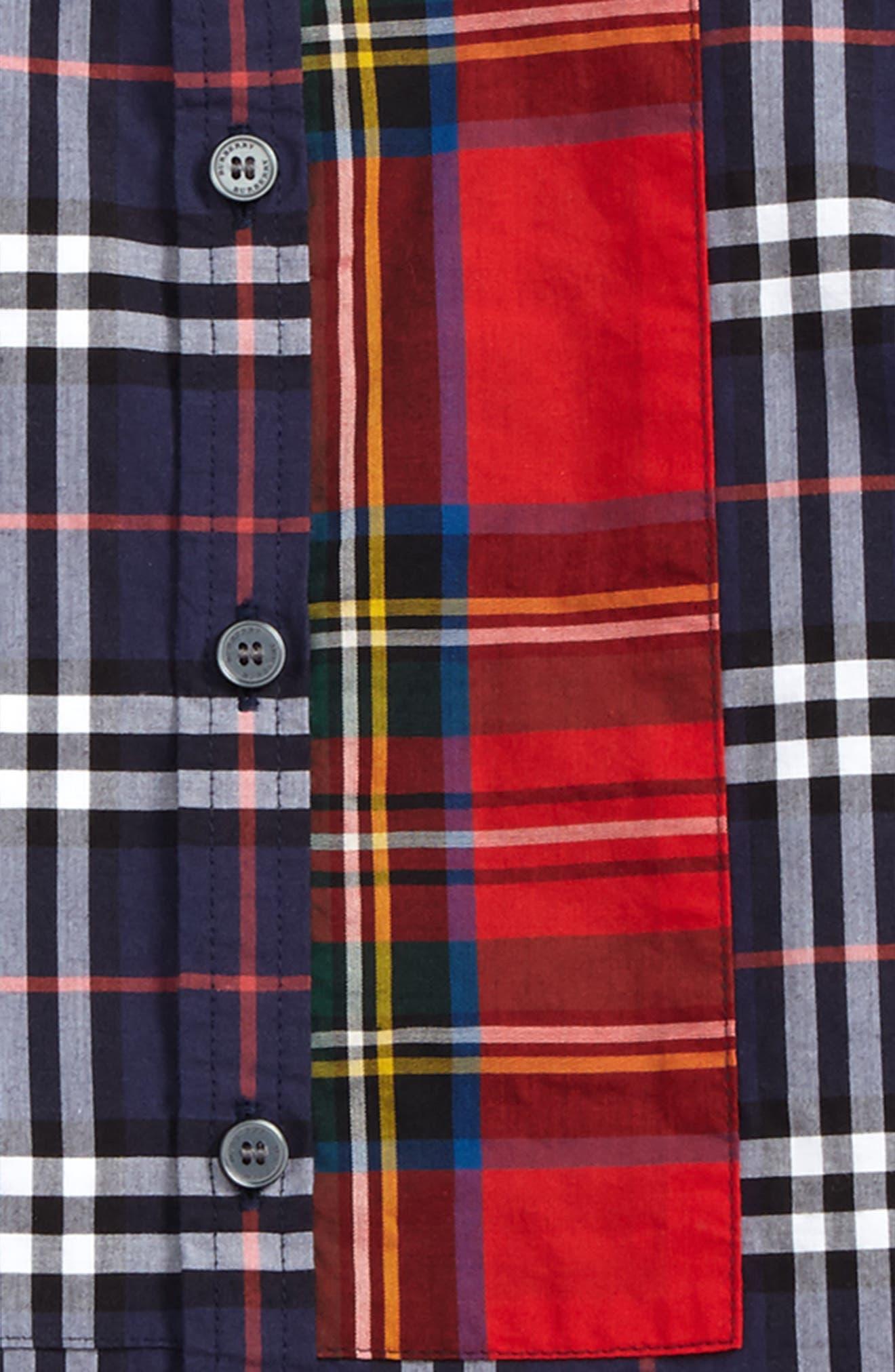 Alternate Image 2  - Burberry Argus Check Print Woven Shirt (Baby Boys)
