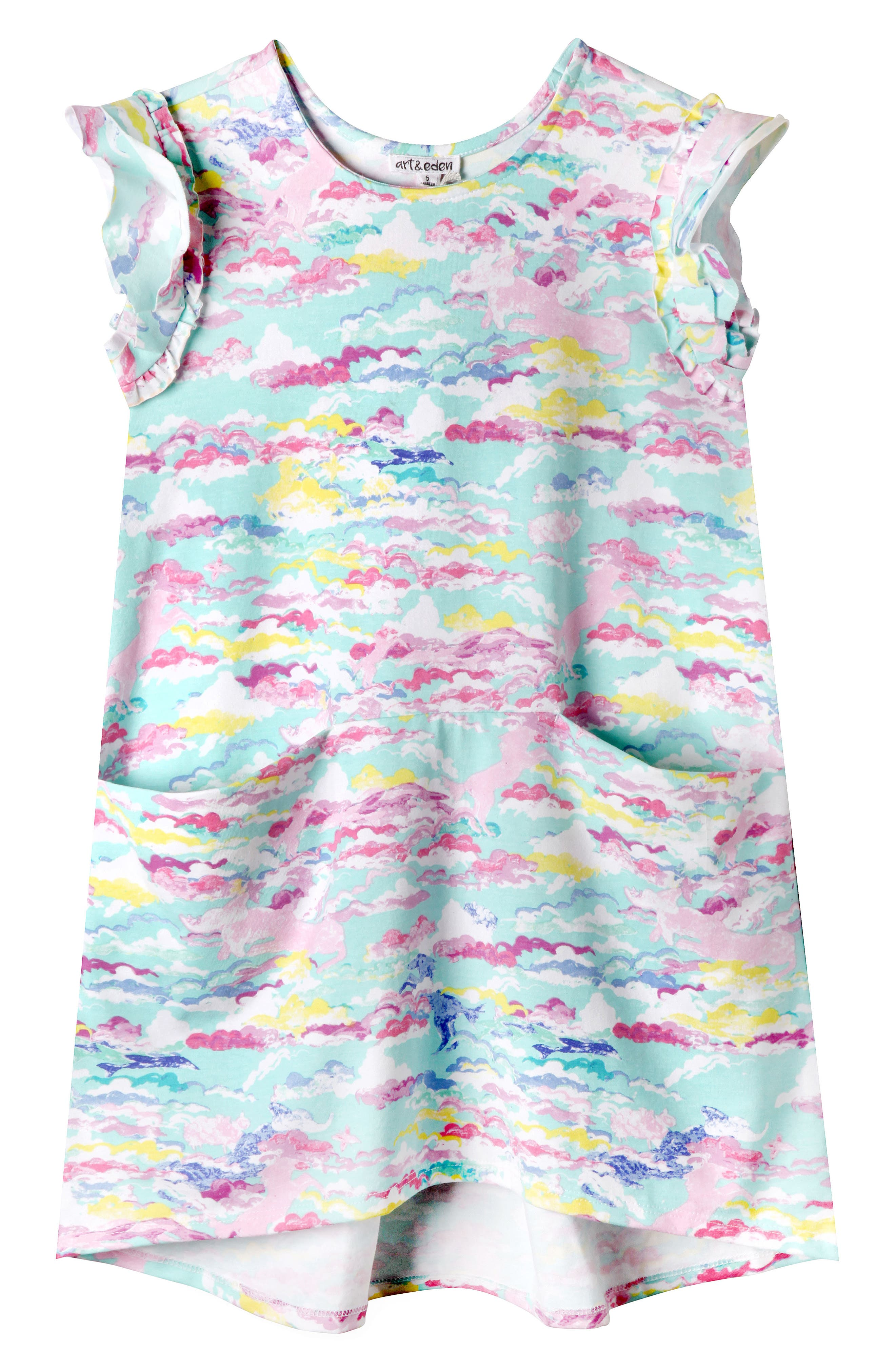 Art & Eden Reagan Print Dress (Toddler Girls & Little Girls)