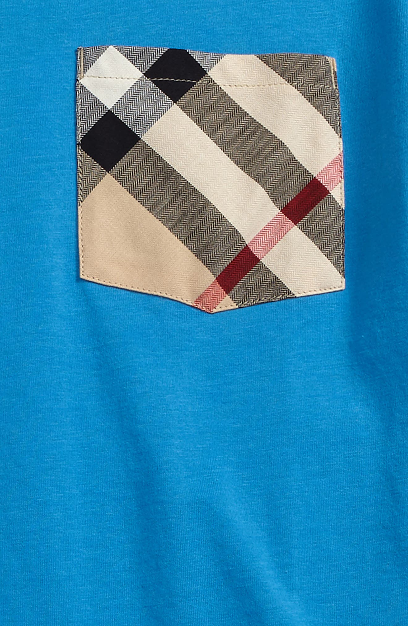 Alternate Image 2  - Burberry Pocket T-Shirt (Little Boys & Big Boys)