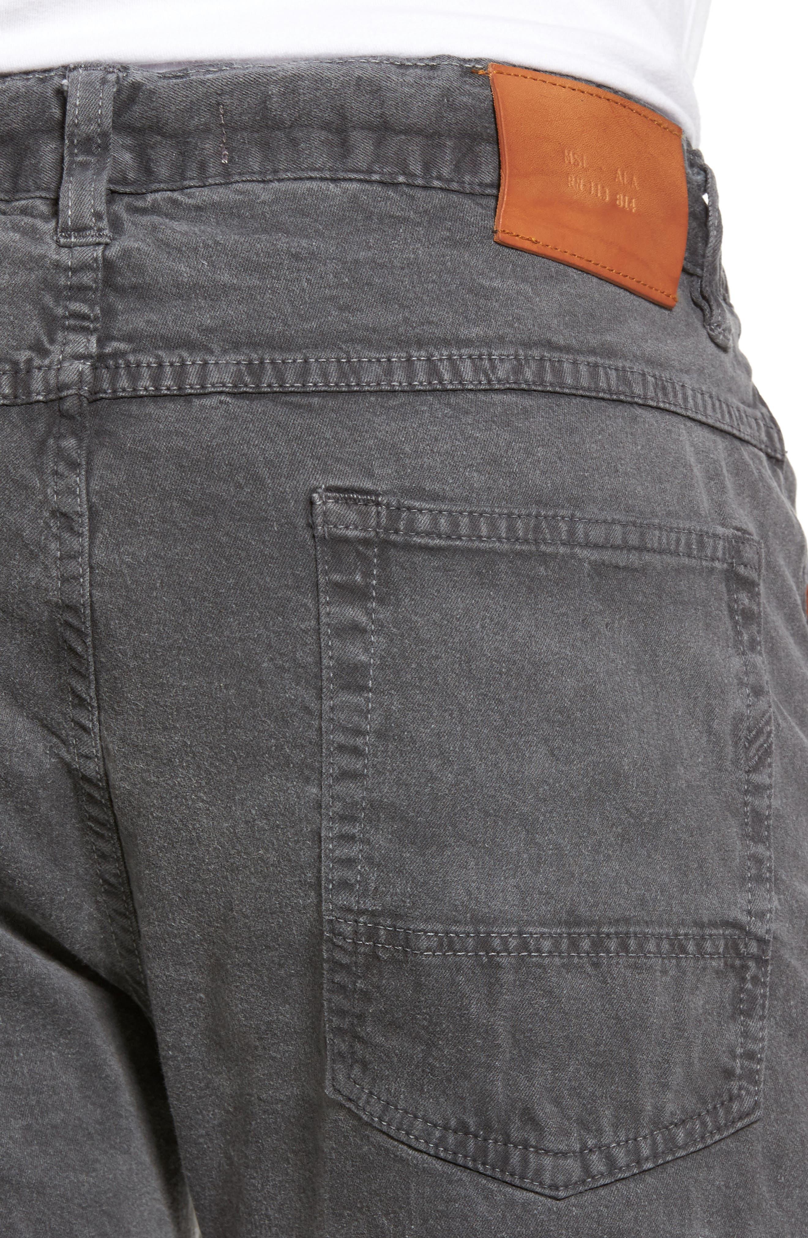 Alternate Image 4  - Billy Reid Slim Fit Selvedge Jeans