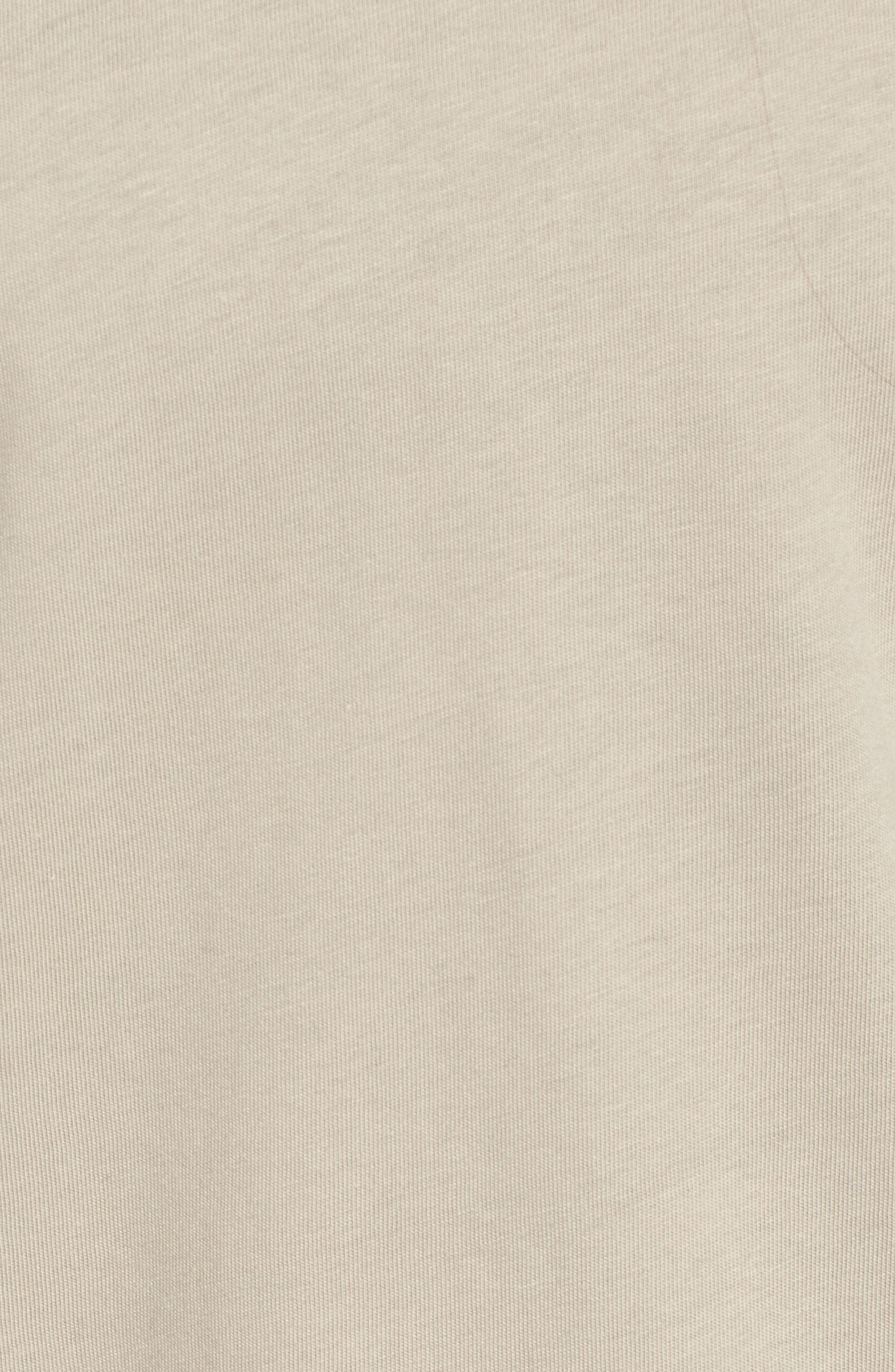 Logo Sleeve Longline Tee,                             Alternate thumbnail 6, color,                             Laurel Oak