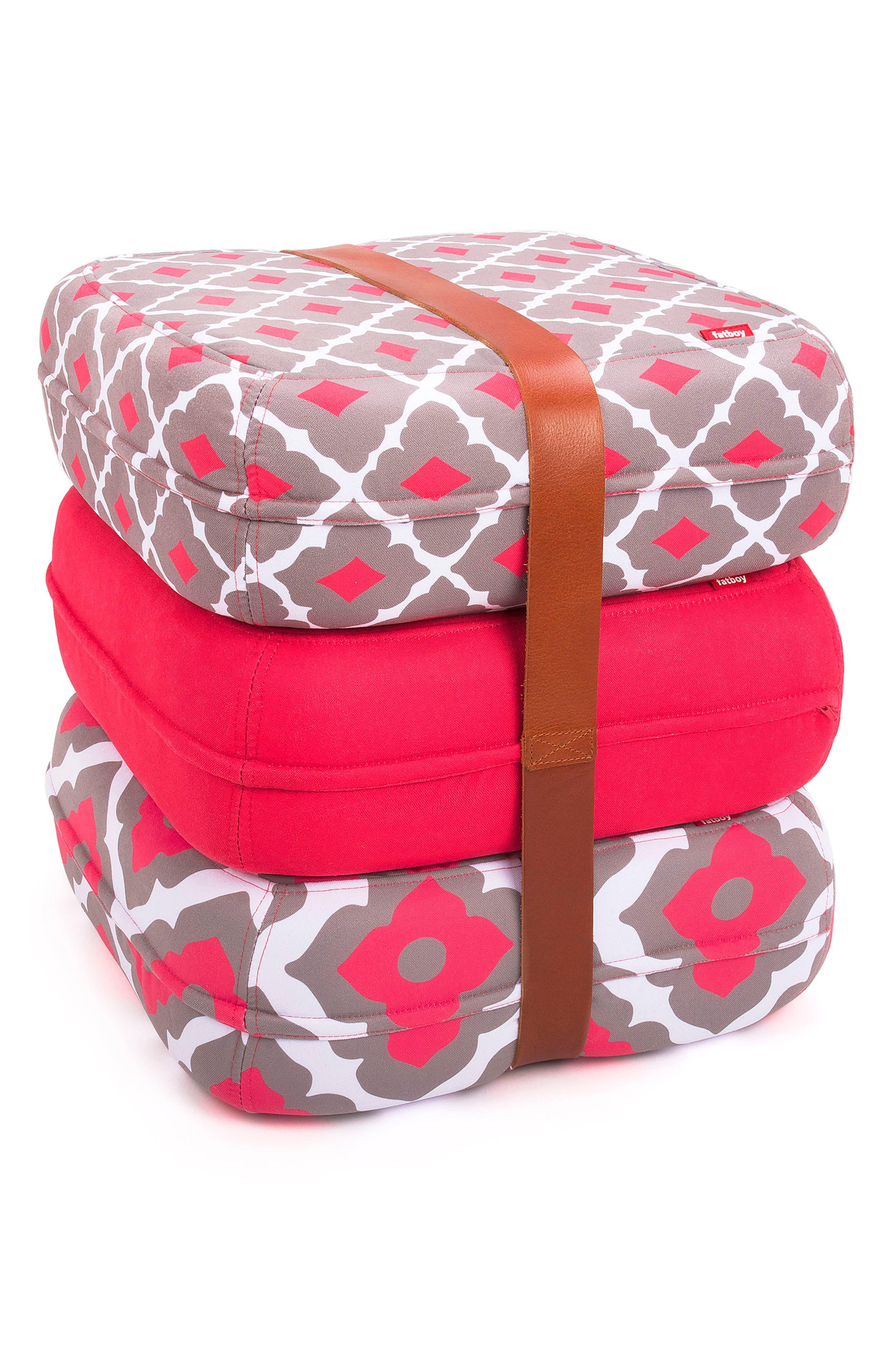 Baboesjka Set of 3 Pillows,                         Main,                         color, Amelia Pink